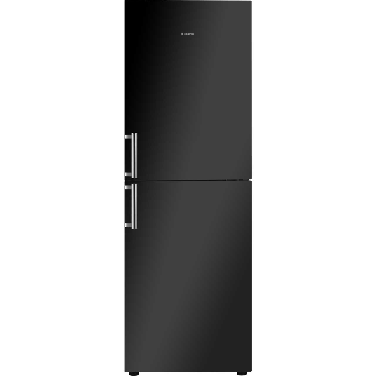 Hoover HVBN6182BHK Free Standing Fridge Freezer Frost Free in Black