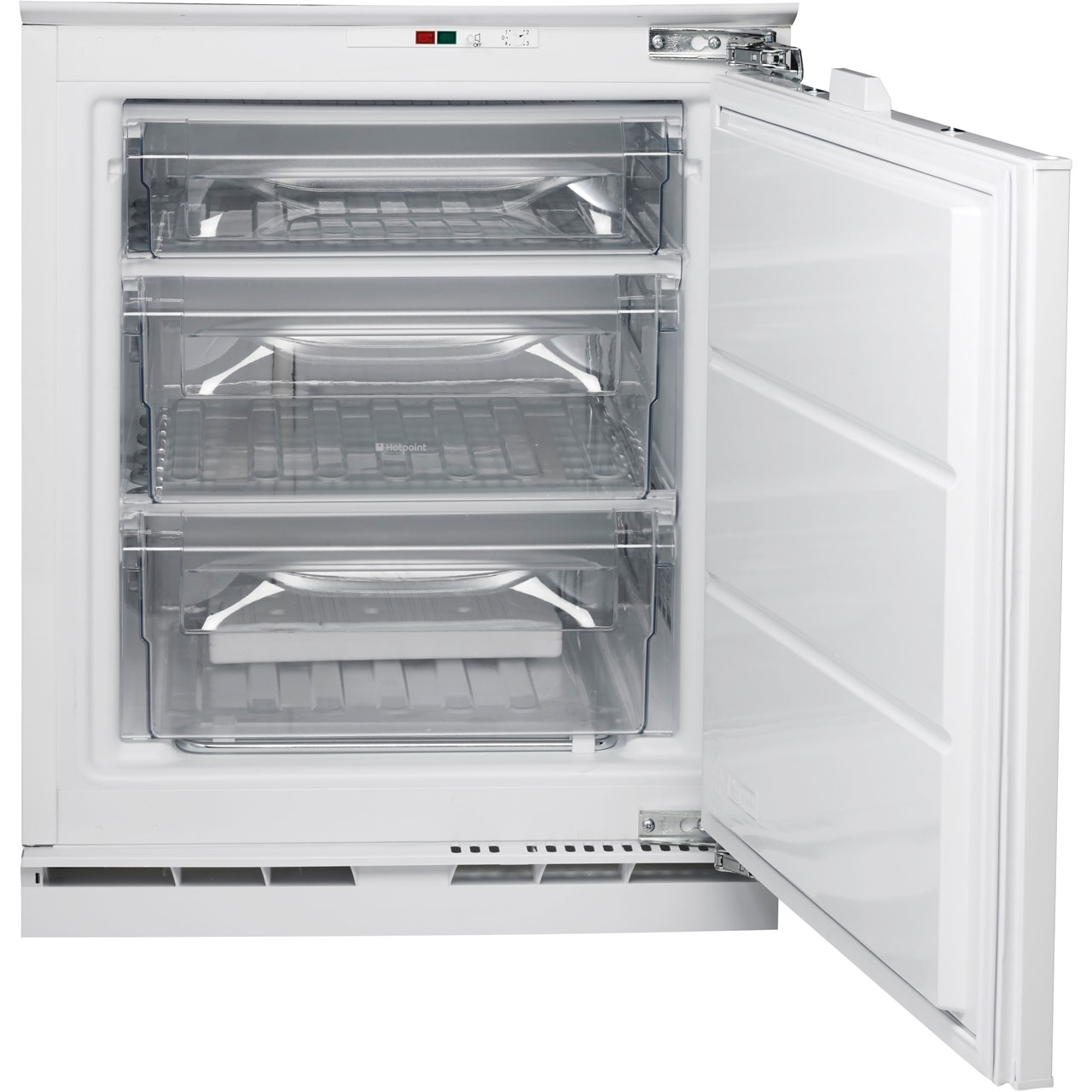 Hotpoint Aquarius HZA1.1 Integrated Under Counter Freezer With Fixed Door  Fixing Kit   A+ Rated