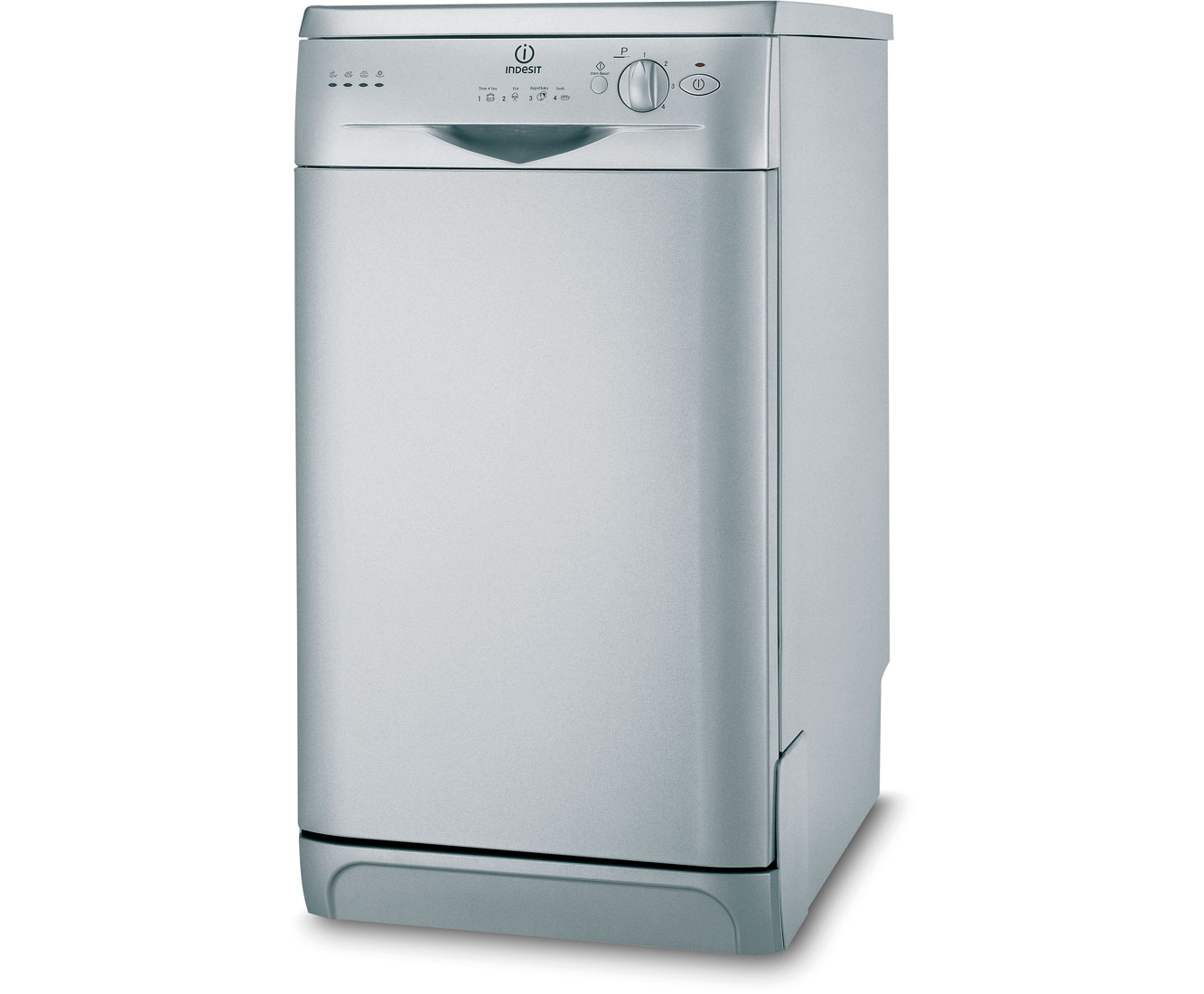 Indesit Start IDS105S Slimline Dishwasher - Silver