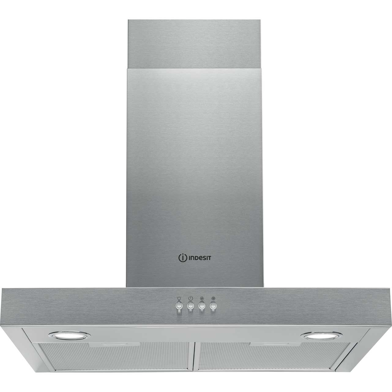 Indesit IHBS6.4AMX Integrated Cooker Hood in Stainless Steel