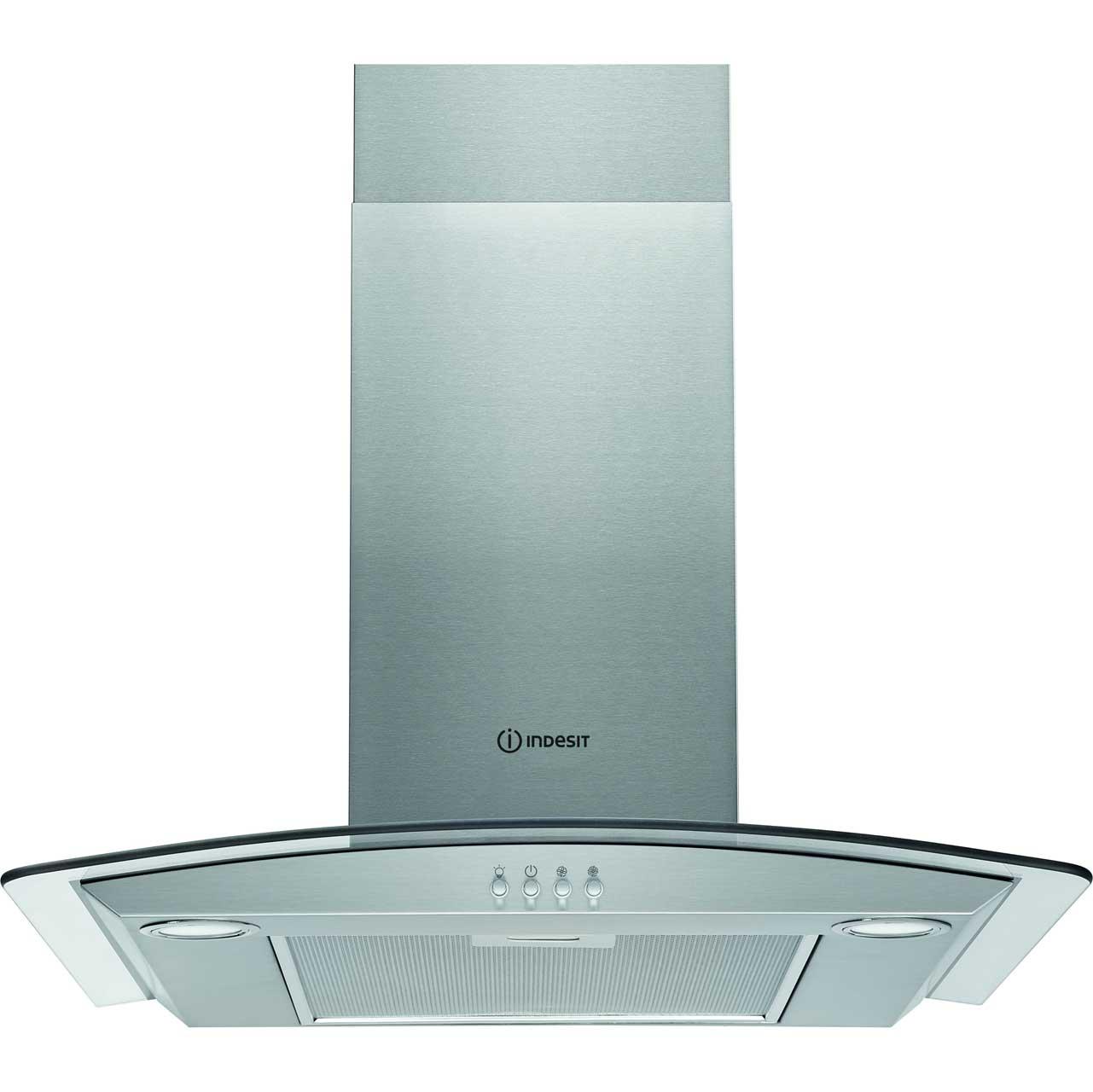 IHGC6.4AMX_SS | Indesit chimney cooker hood | ao.com