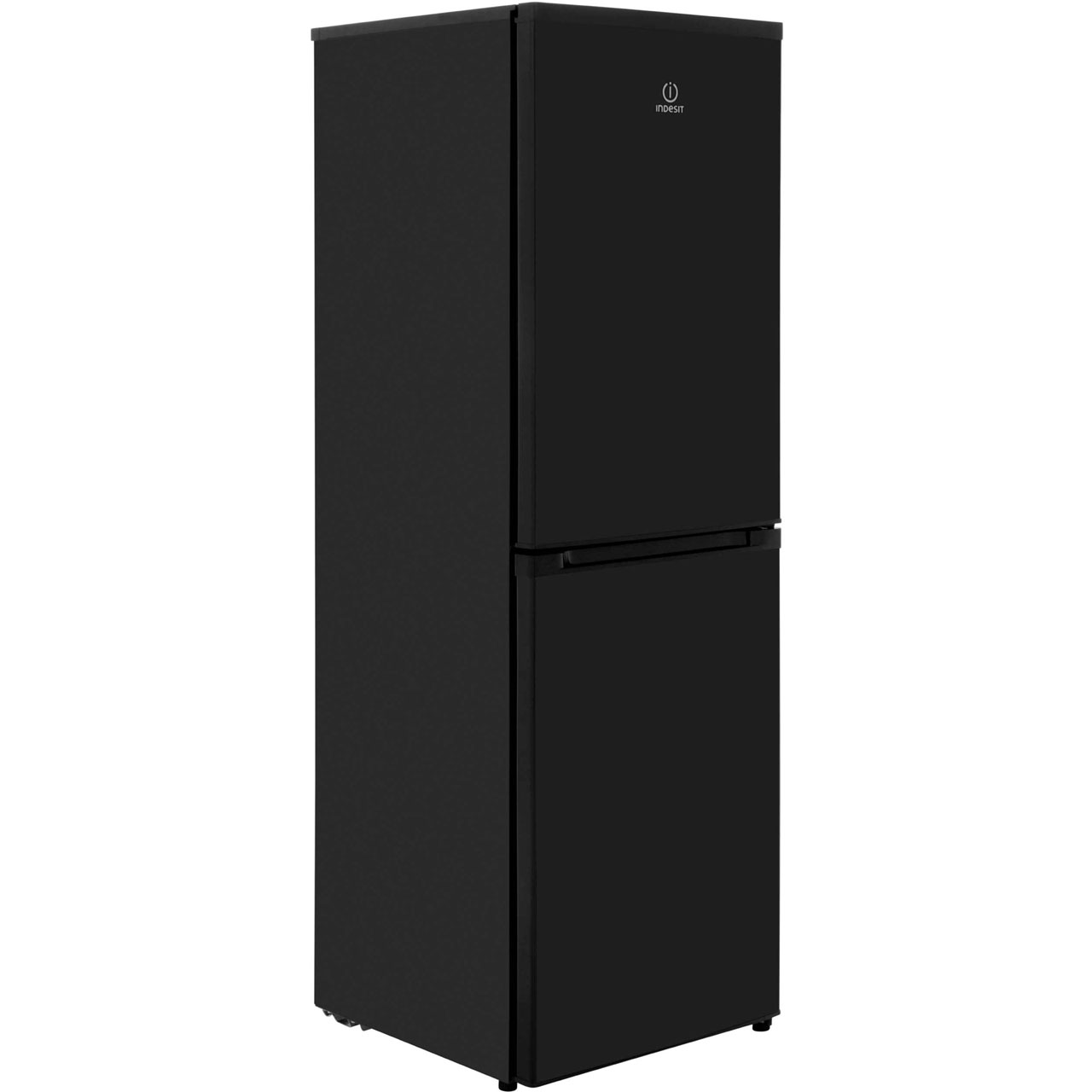 Indesit DAA55NFK 50/50 Frost Free Fridge Freezer - Black