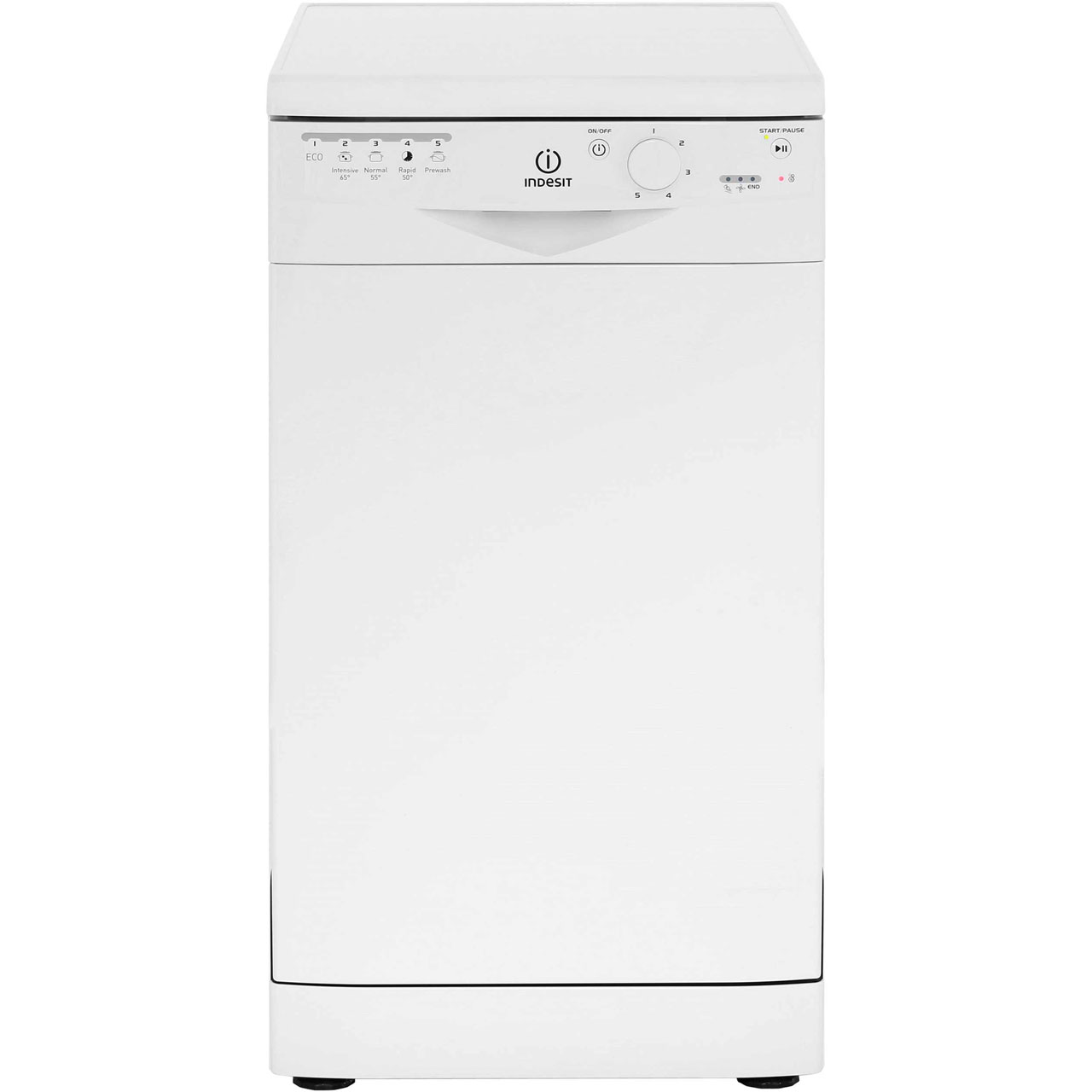 indesit dsr26b1 a dishwasher slimline 45cm 10 place white. Black Bedroom Furniture Sets. Home Design Ideas
