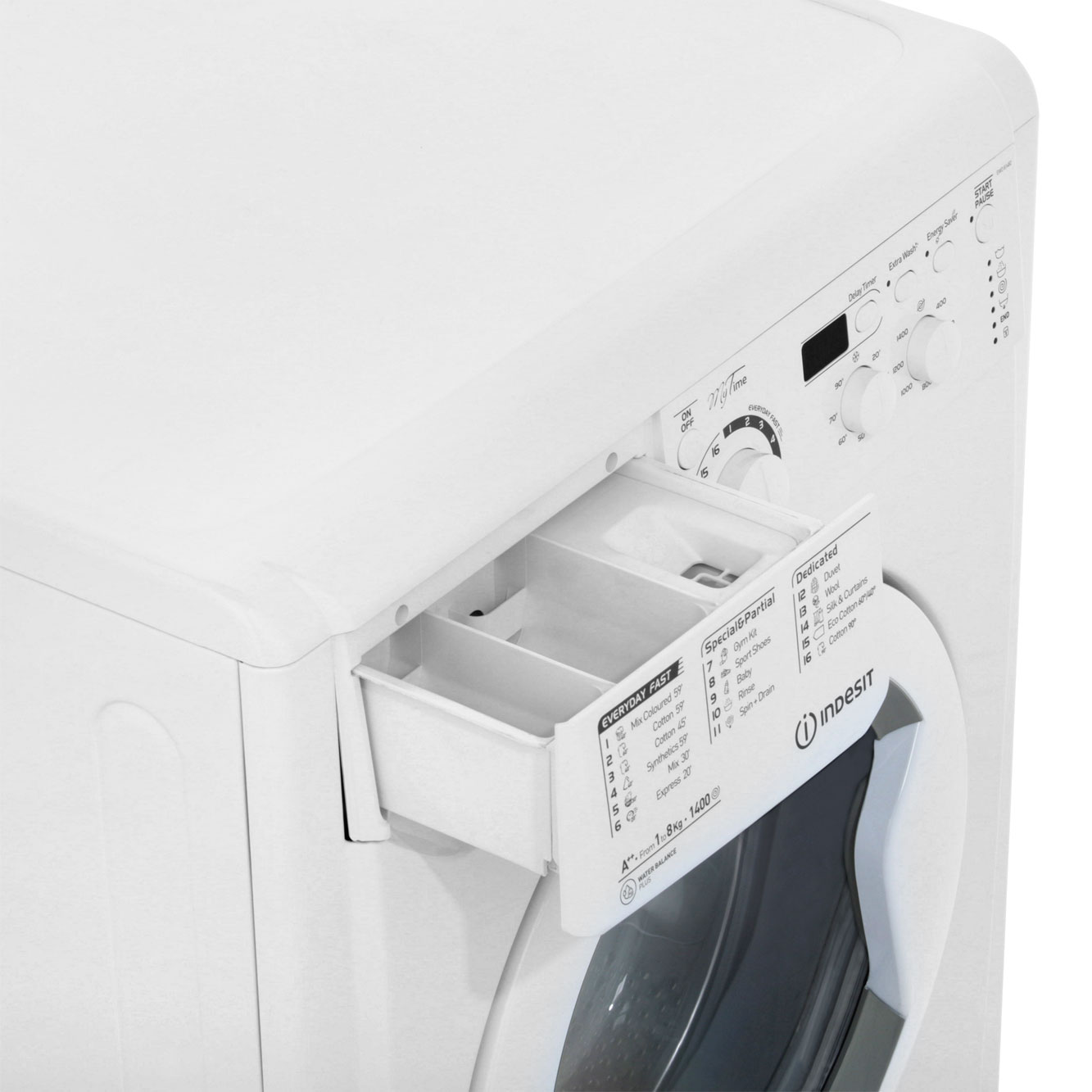 Indesit My Time 8Kg Washing Machine | EWD81482W | ao.com