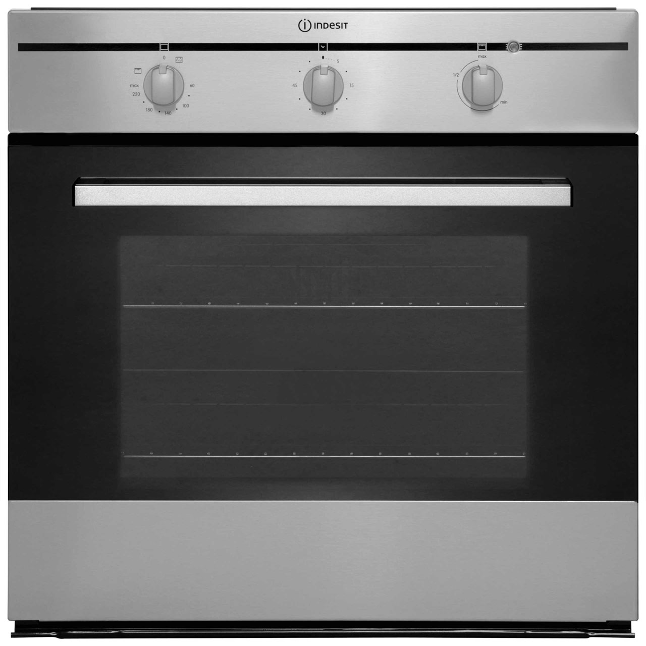 Indesit FIM31KAIX Built In Electric Single Oven - Stainless Steel