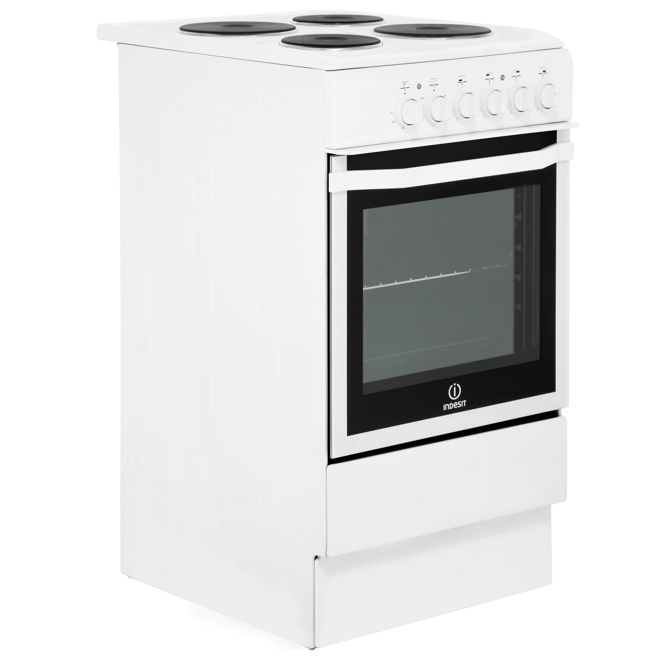 Indesit I5eshw Free Standing B Electric Cooker With Solid