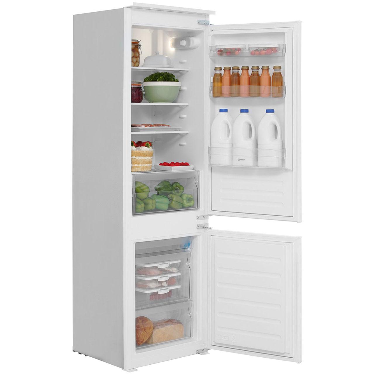 integrated indesit fridge shop for cheap freezers and. Black Bedroom Furniture Sets. Home Design Ideas