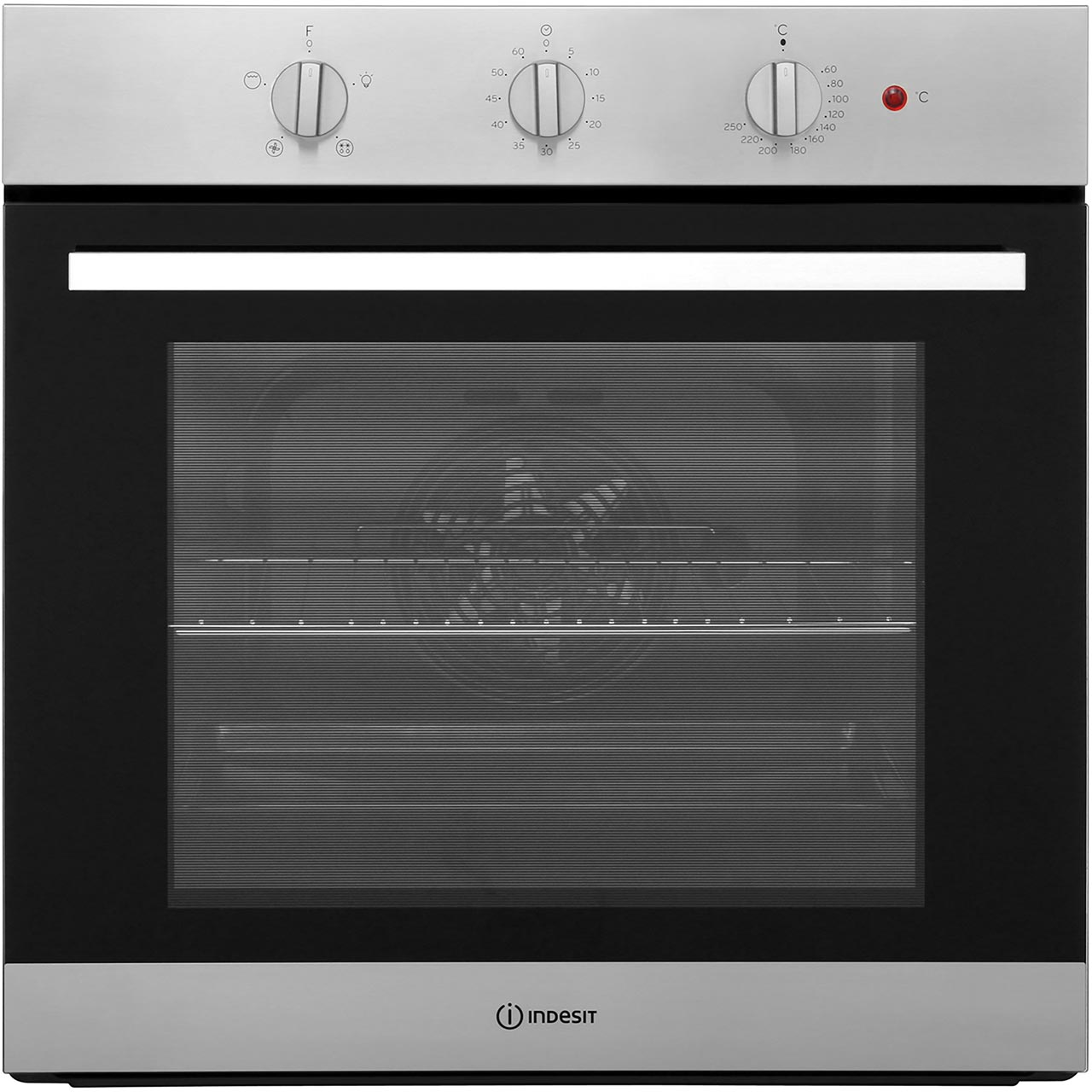 Indesit Ifw6330ix Aria Built In 60cm A Electric Single Oven