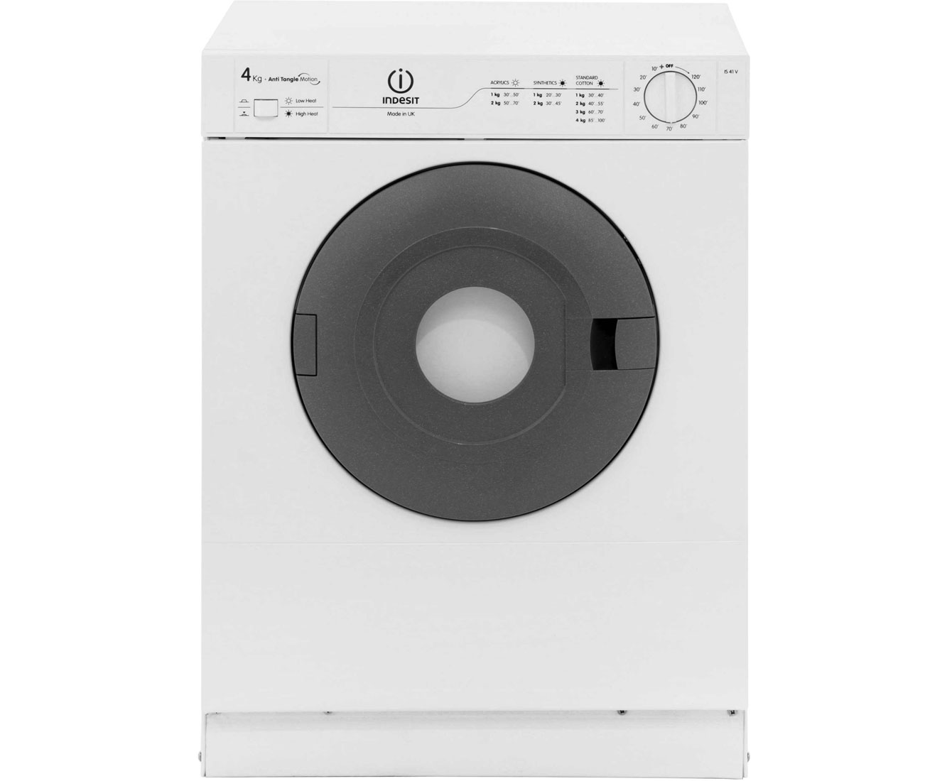 Indesit Is41v 4kg Vented Tumble Dryer Review