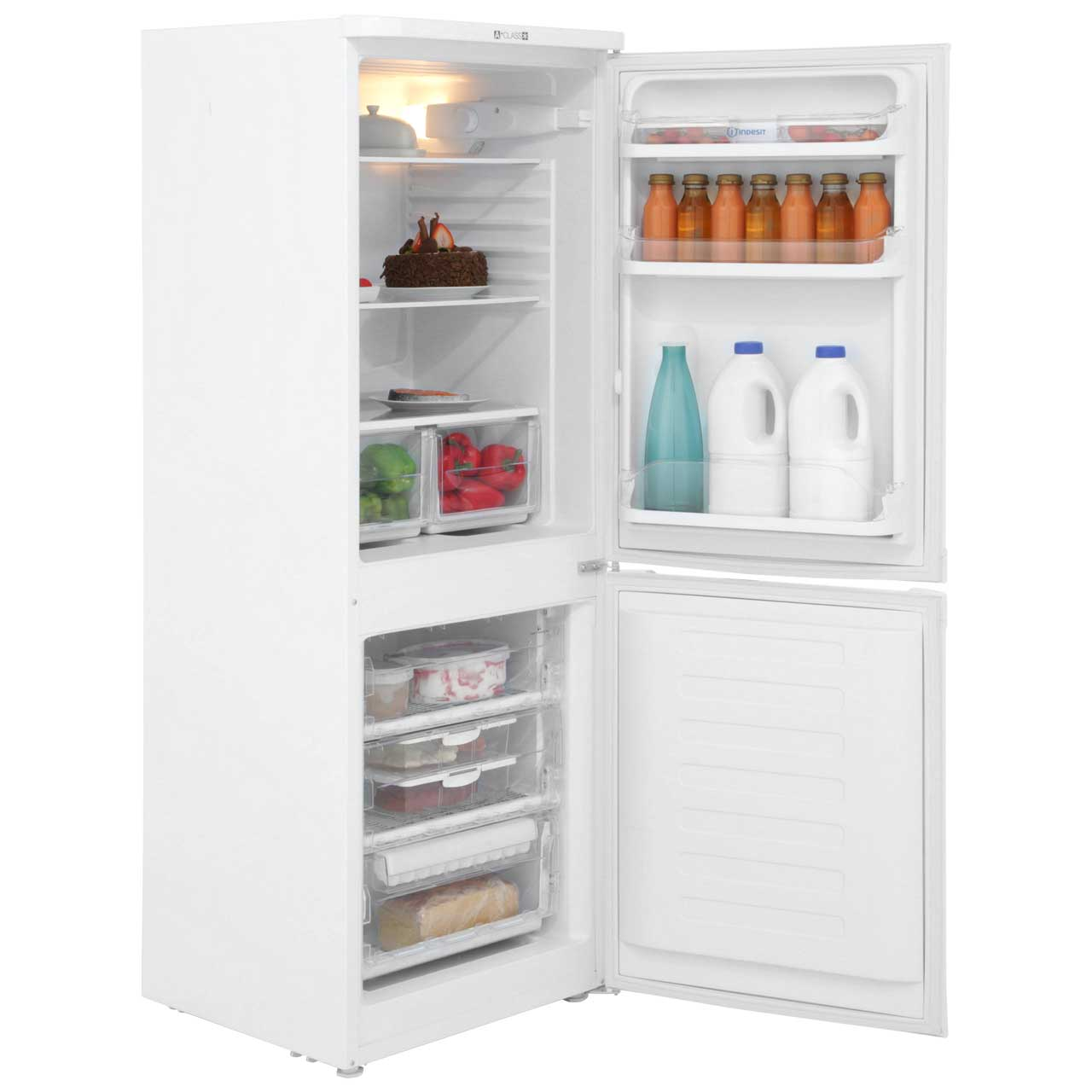 Indesit caa55 fridge freezer review