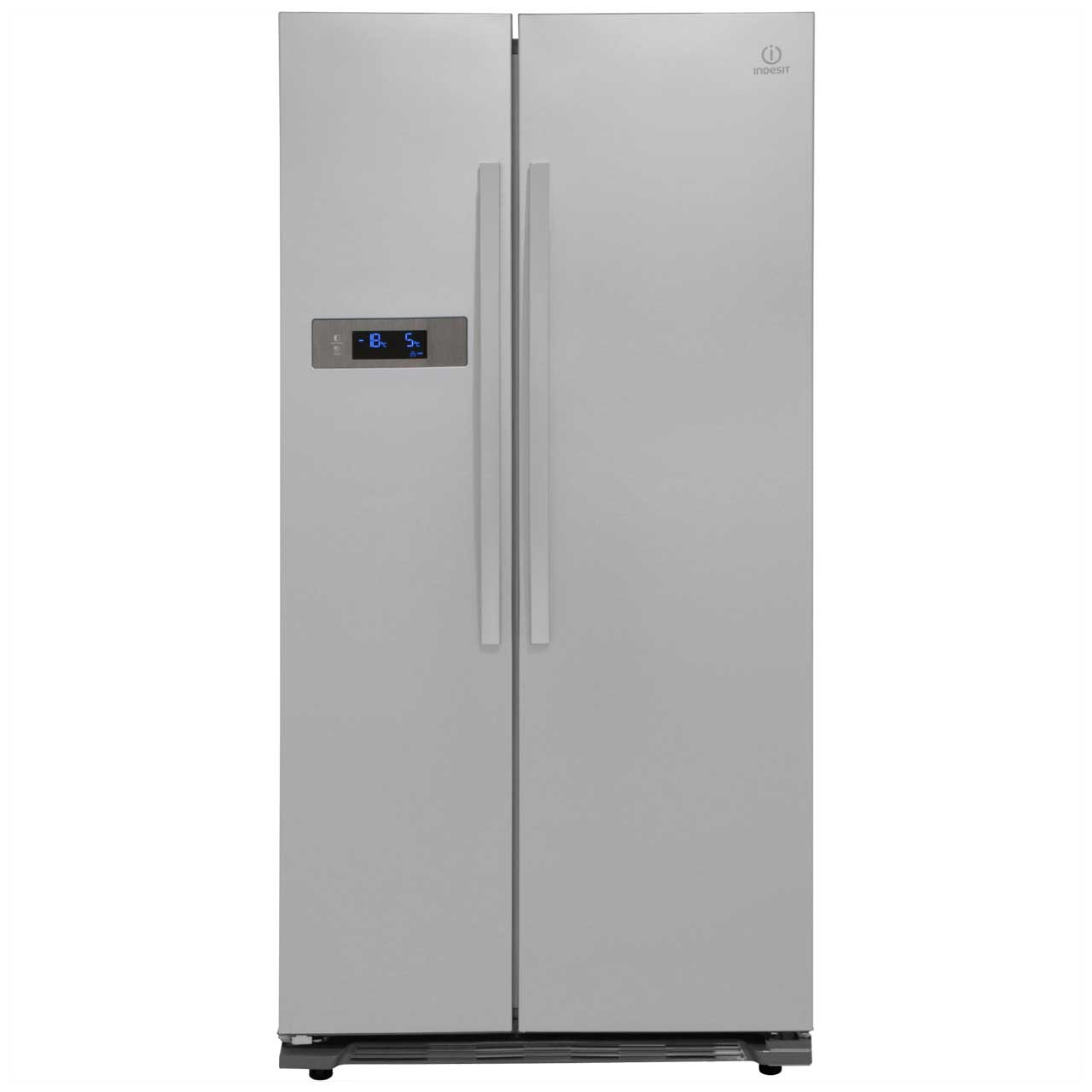 Indesit SBSAA530SD American Fridge Freezer - Silver