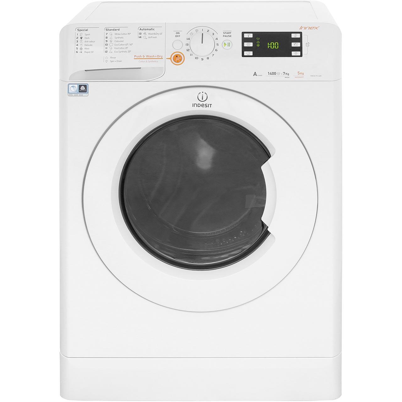 indesit innex washer dryer instructions