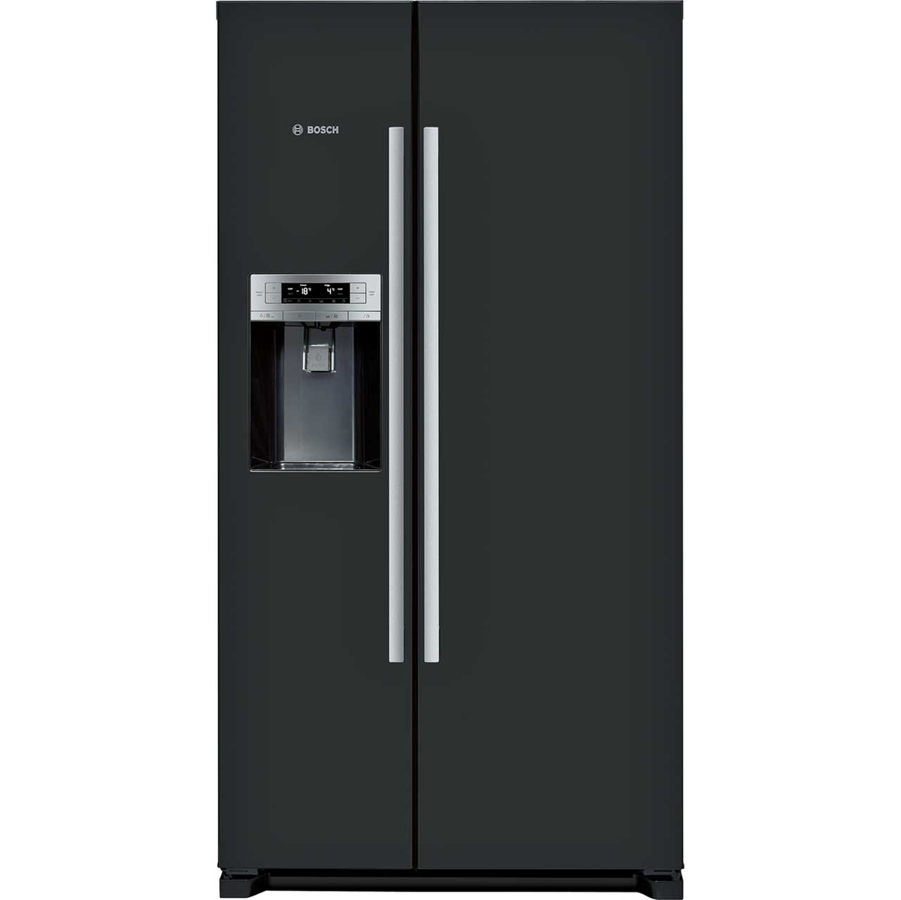 Bosch Serie 6 KAD90VB20G Free Standing American Fridge Freezer in Black