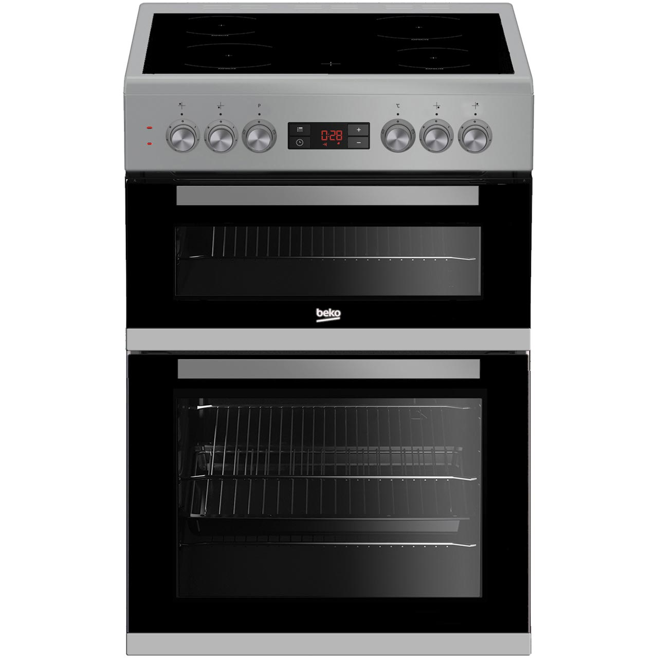 Beko KDC653S Free Standing Cooker in Silver