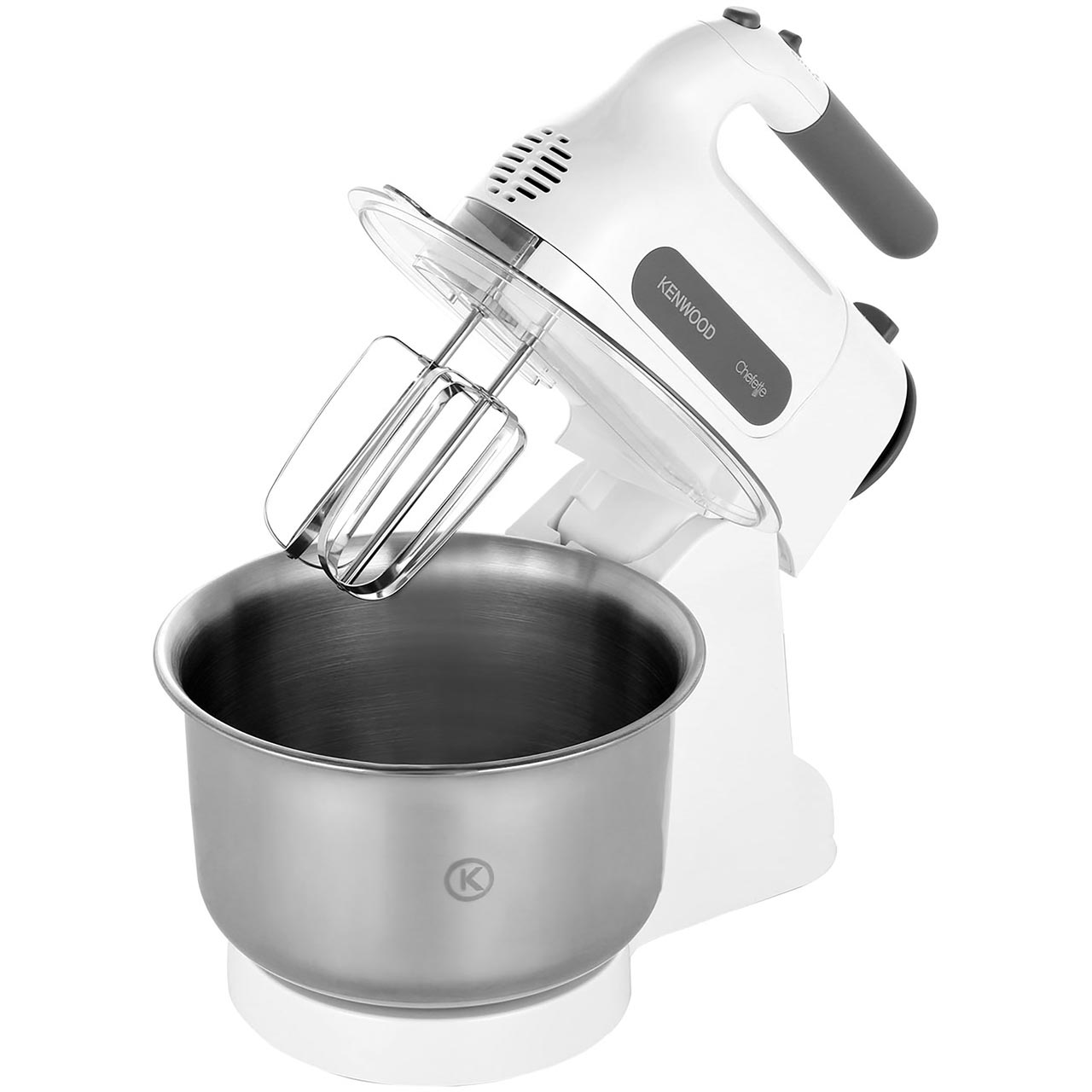 Kenwood Cheffette HM680 Hand Mixer with 2 Accessories - White