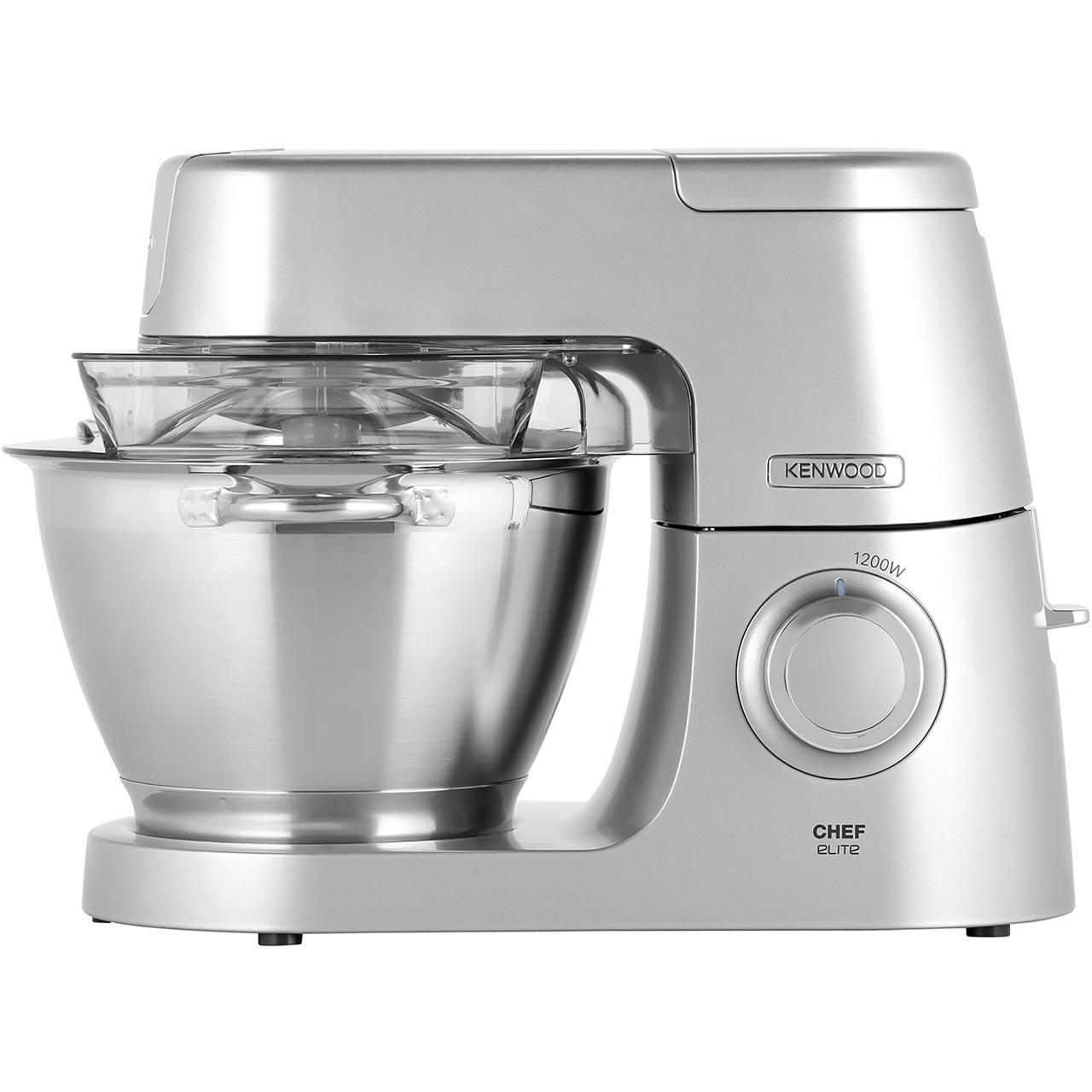 Kenwood Chef Elite Kvc5100s Kitchen Machine Silver