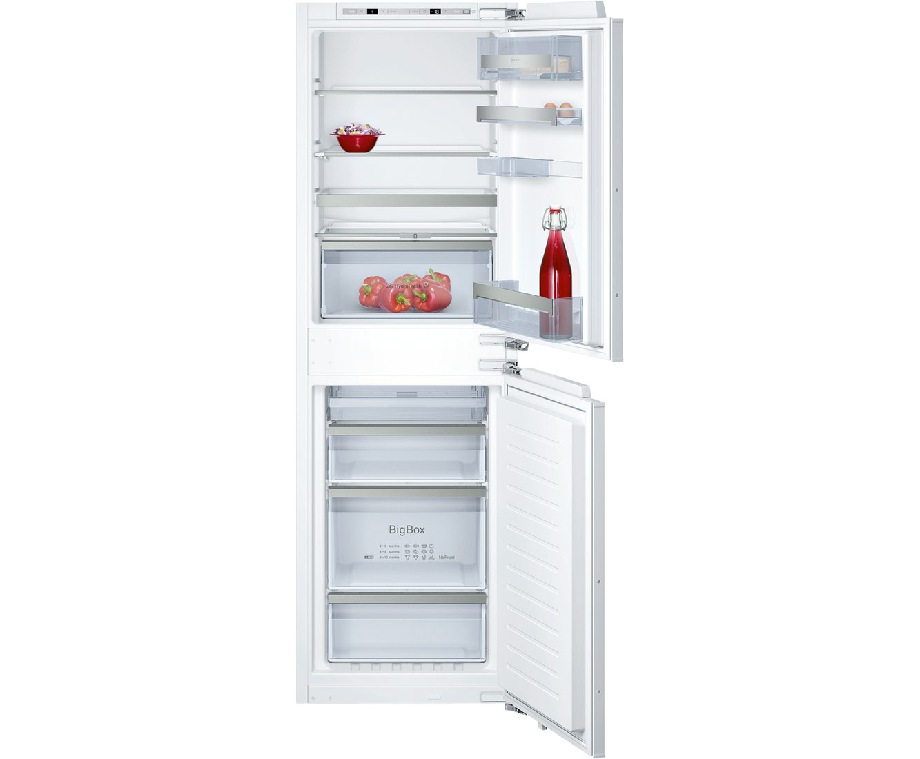 Neff N70 Ki78530g Integrated 50 Frost Free Fridge Freezer With Fixed Door Fixing Kit