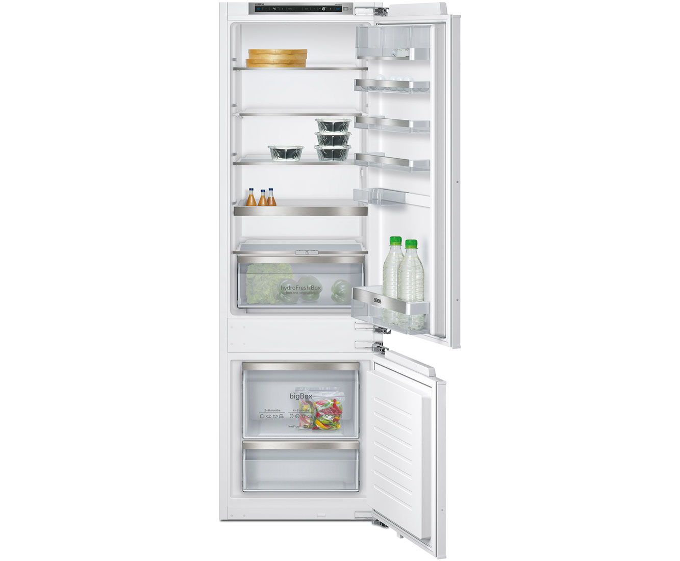 Siemens IQ-500 KI87SAF30G Integrated 70/30 Fridge Freezer - White