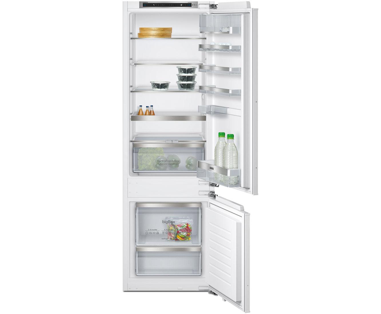Siemens IQ500 KI87SAF30G Integrated Fridge Freezer in White