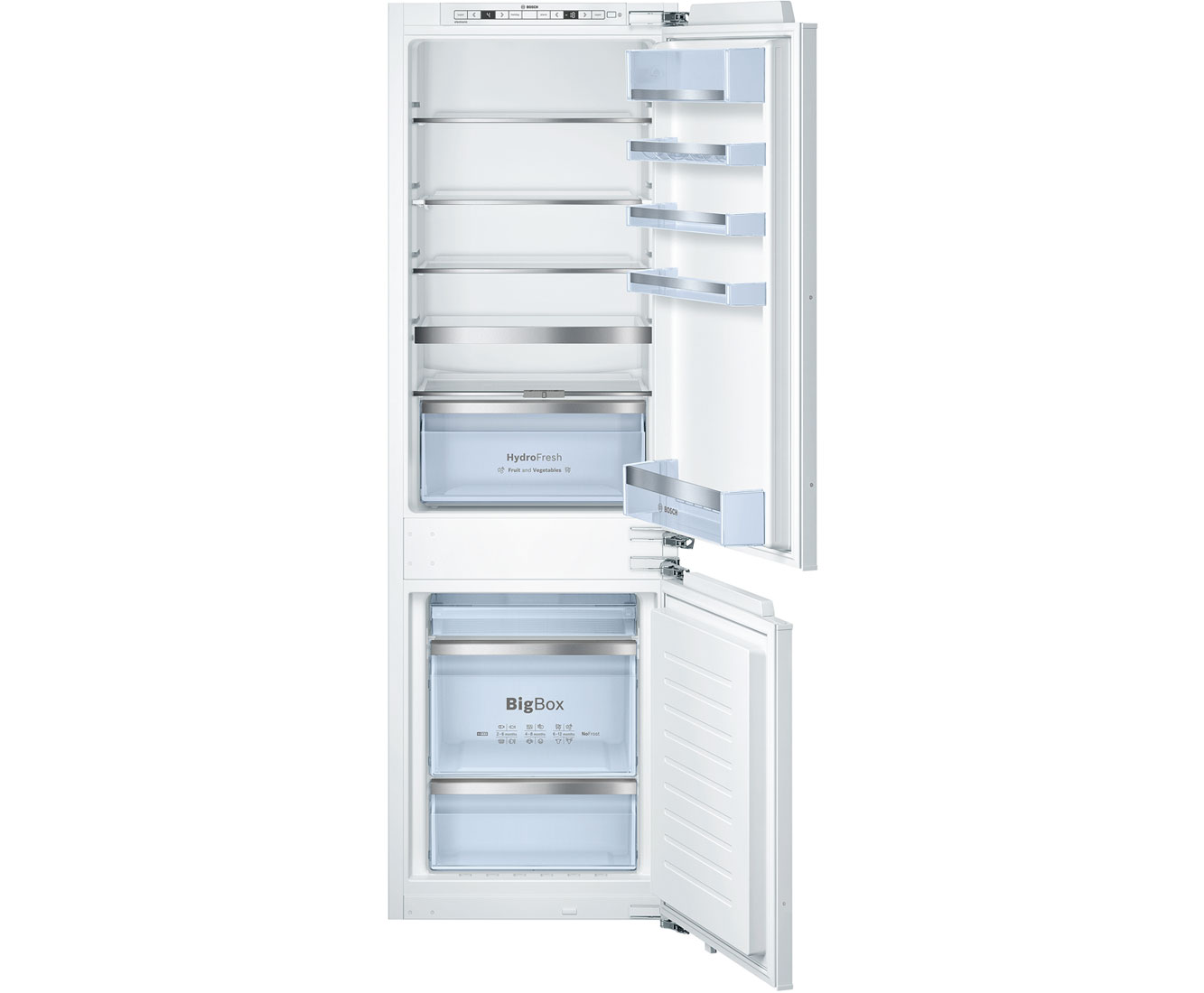 Bosch Serie 8 KIN86AD30G Integrated Fridge Freezer Frost Free in White