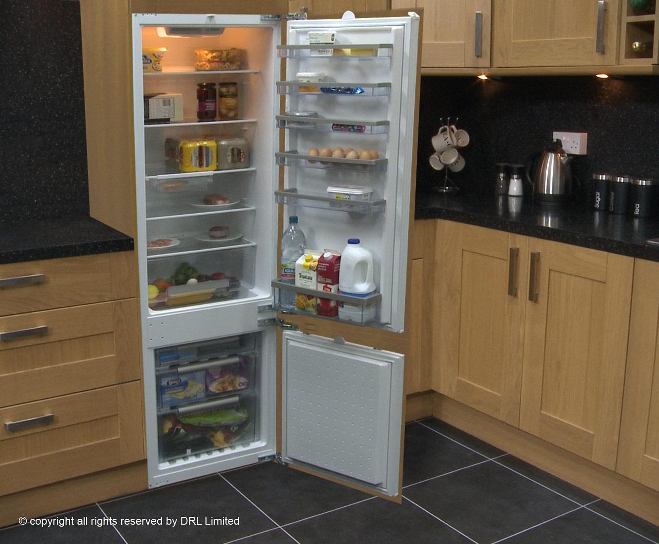 Image gallery integrated fridge freezer - Integrated freezer ...