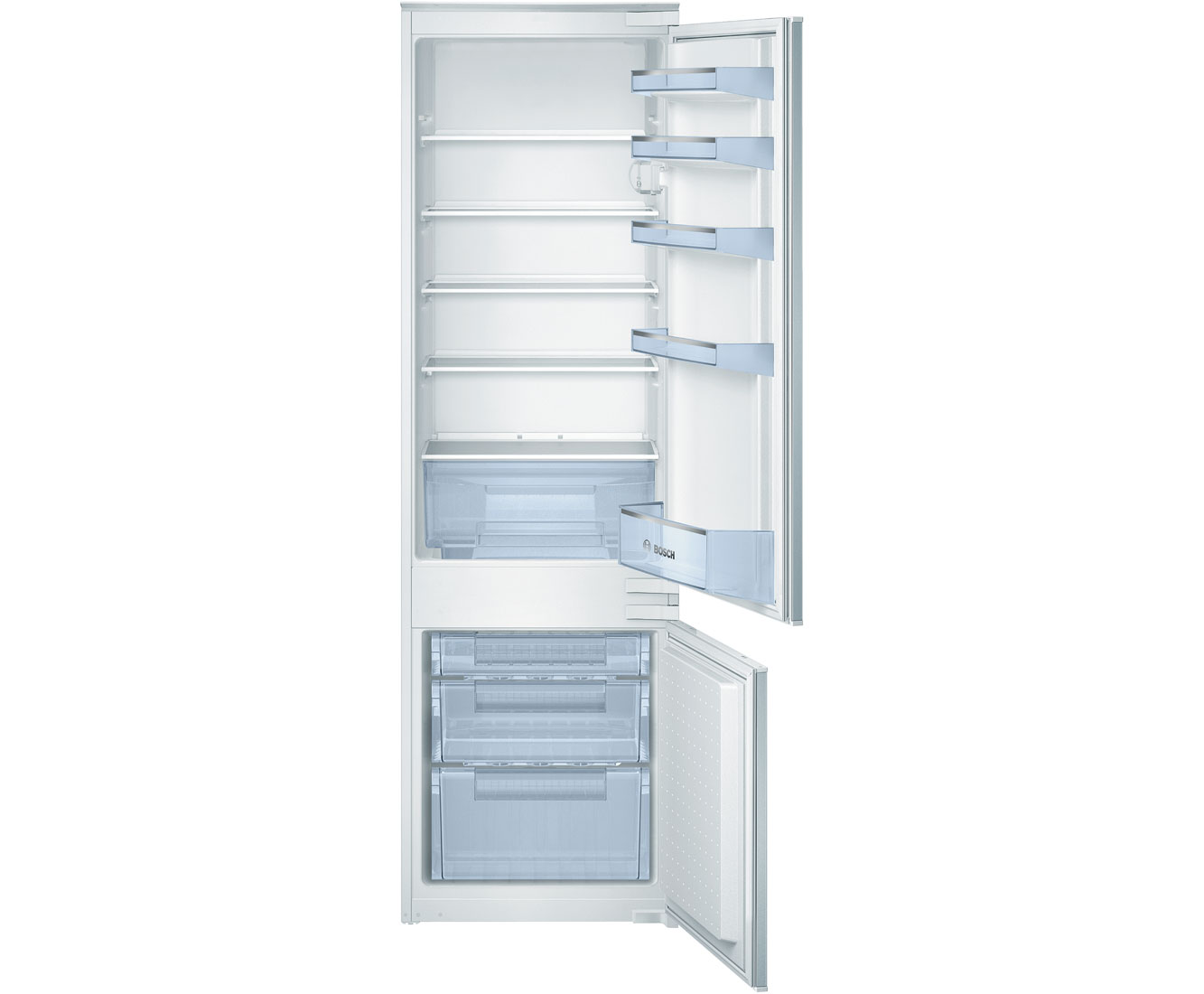 Bosch Serie 4 KIV38X22GB Integrated Fridge Freezer in White