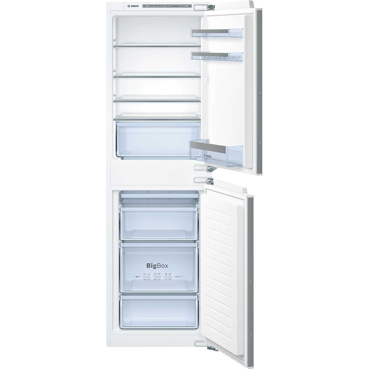 Image of Bosch Serie 4 KIV85VF30G Integrated Fridge Freezer in White