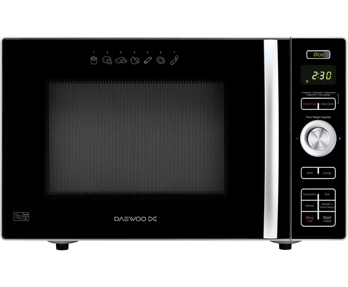 KOC8HAFR_BK | Daewoo Microwave | 24 Litre | ao.com