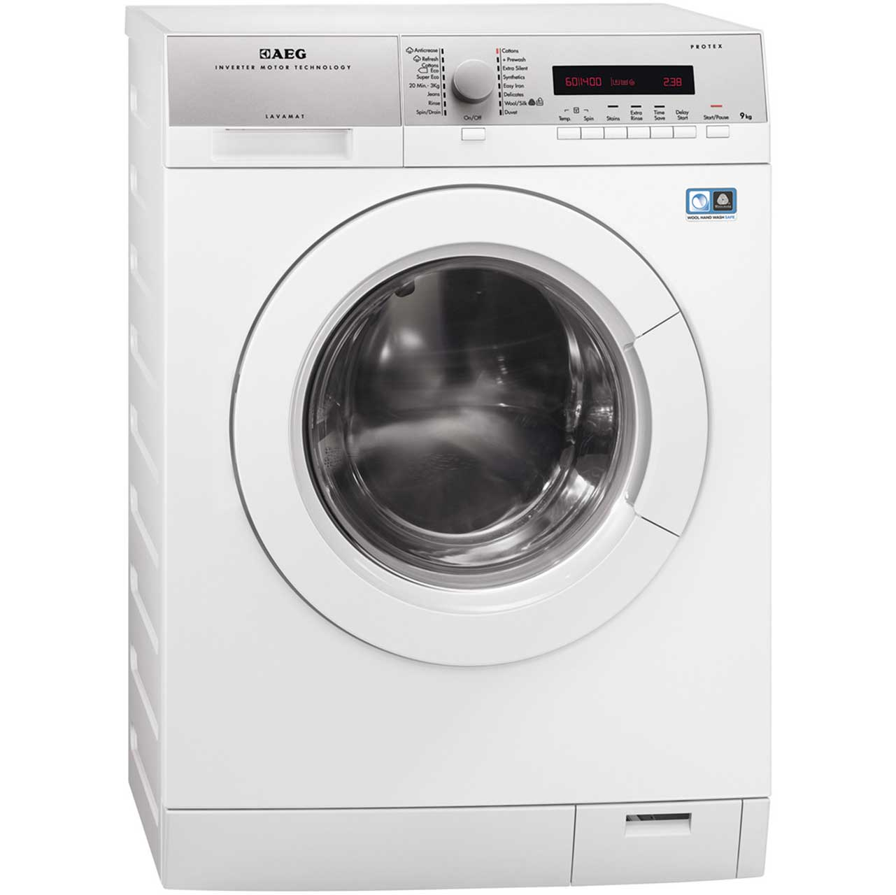 AEG Lavamat L76695FL2 Free Standing Washing Machine in White