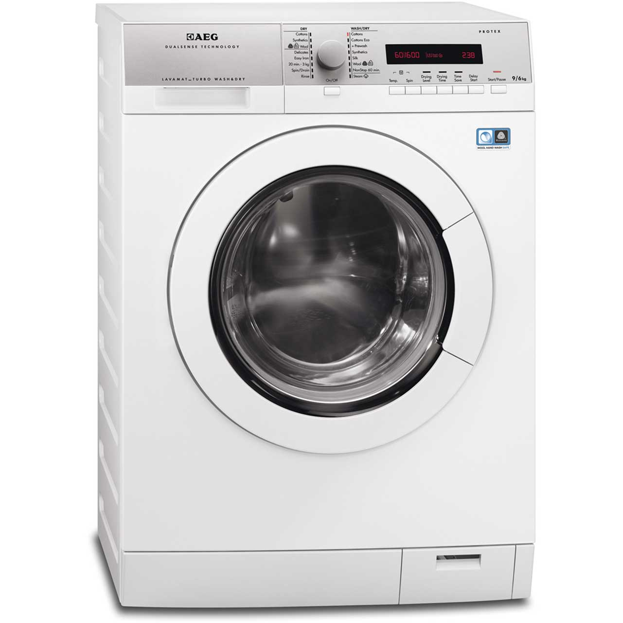 AEG Lavamat Turbo L77695NWD Free Standing Washer Dryer in White