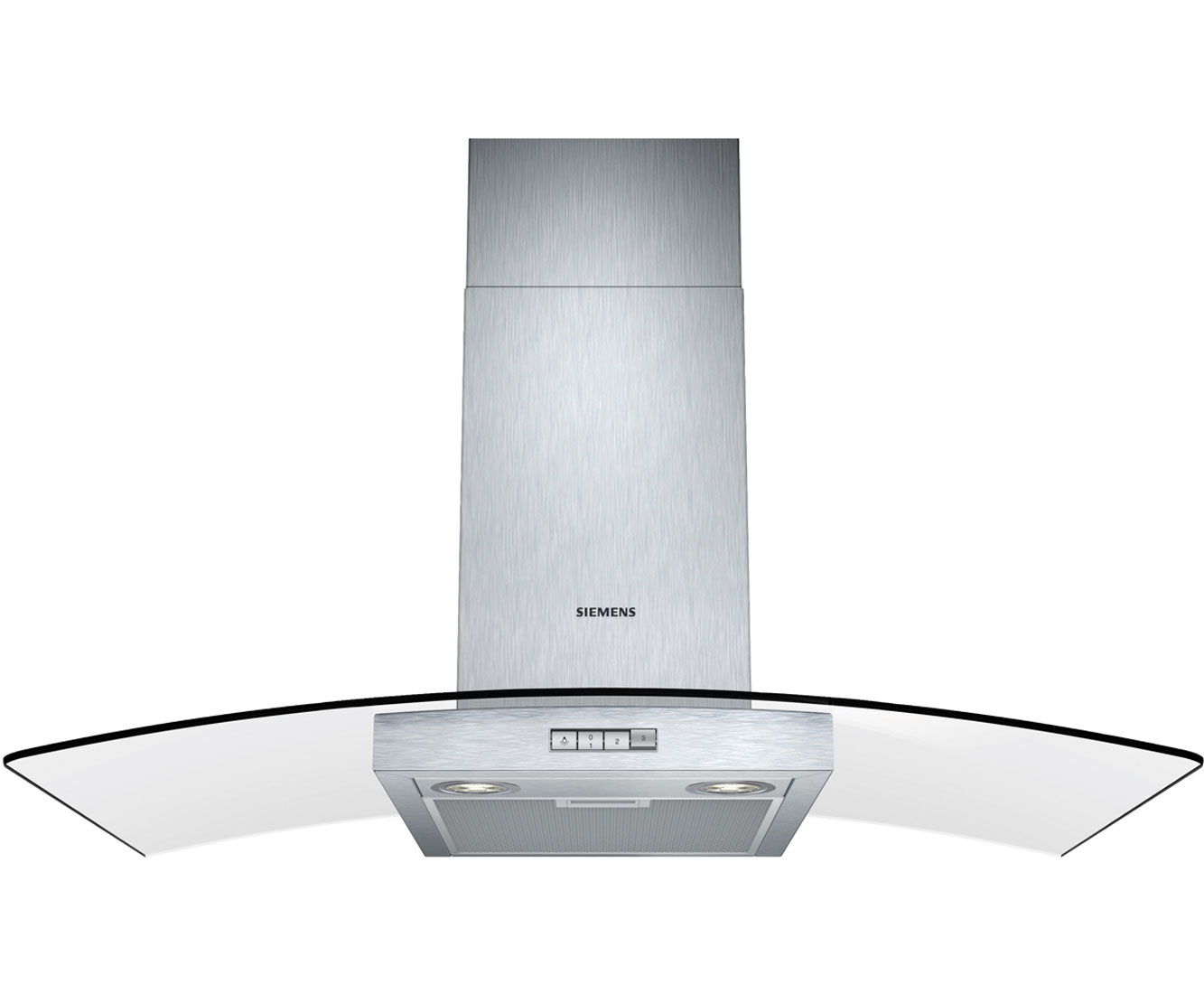 Siemens LC94GB522B Integrated Cooker Hood in Stainless Steel  Glass