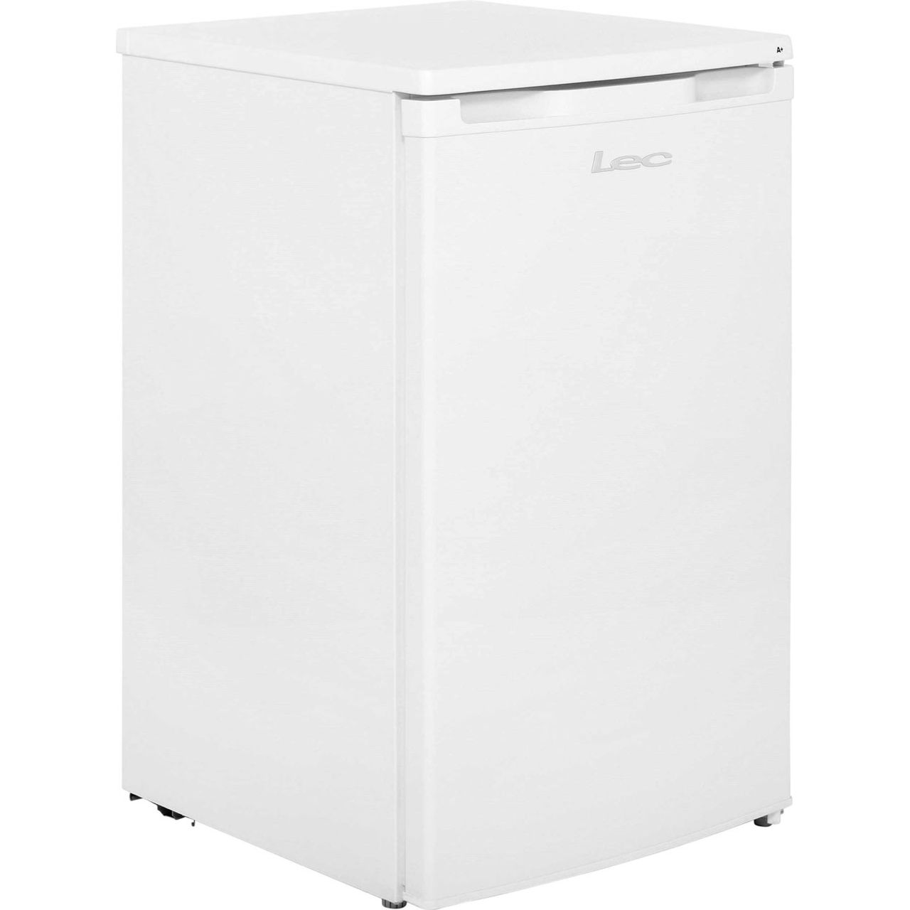 Lec R5010W Fridge with Ice Box - White