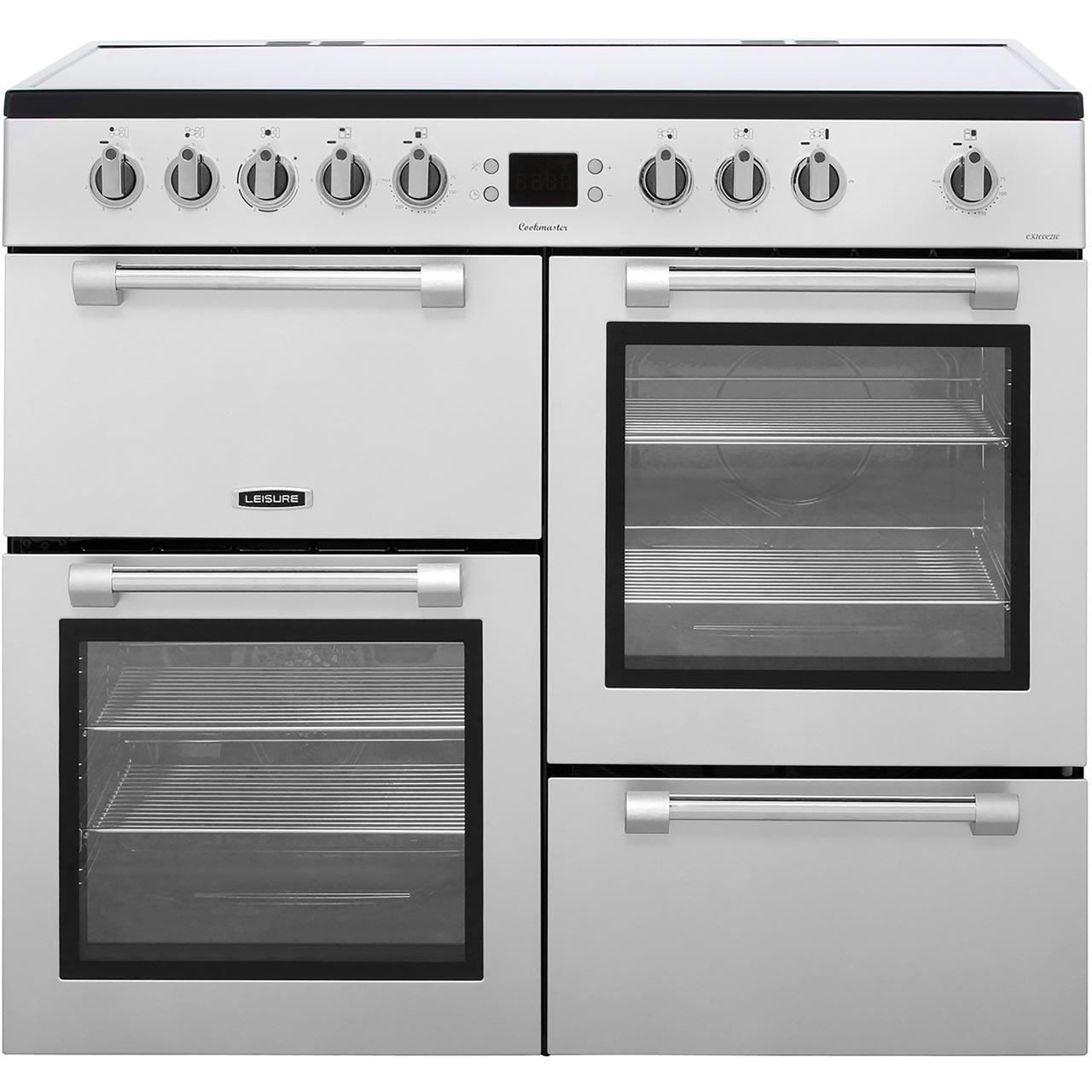Ck100c210s Si Leisure Electric Range Cooker Wiring Zones Kitchen