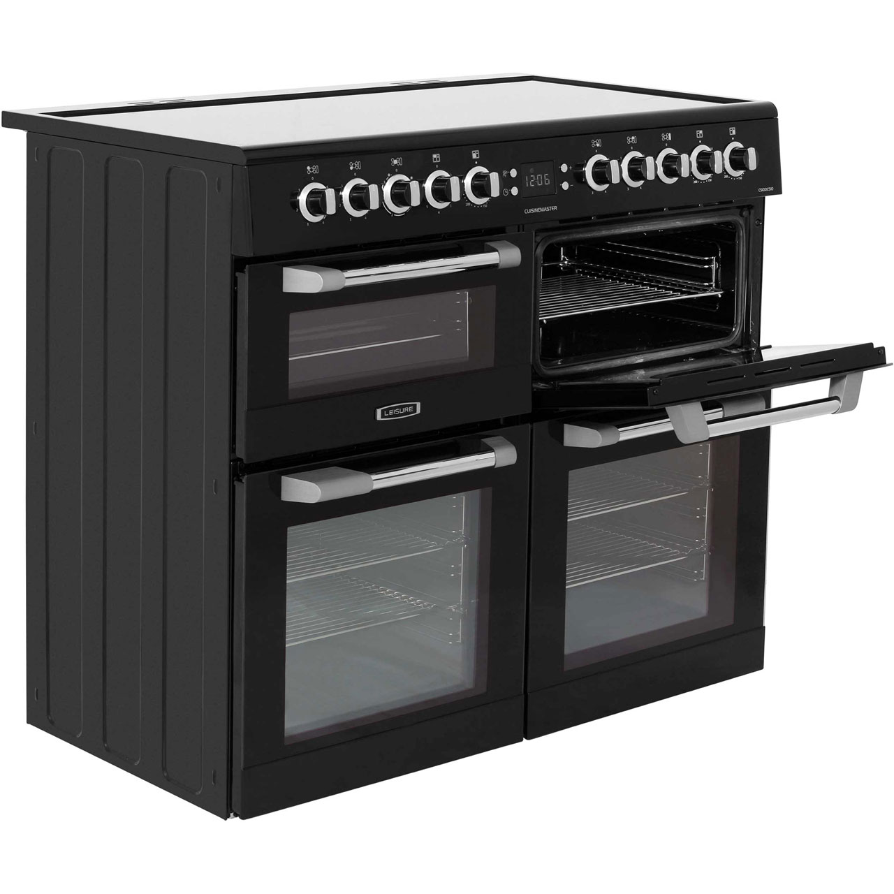 Leisure Cuisinemaster Cs100c510k Electric Range Cooker Black