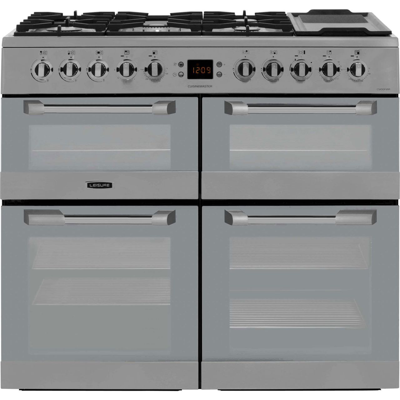 Leisure Cuisinemaster CS100FMIRX 100cm Dual Fuel Range Cooker - Stainless Steel