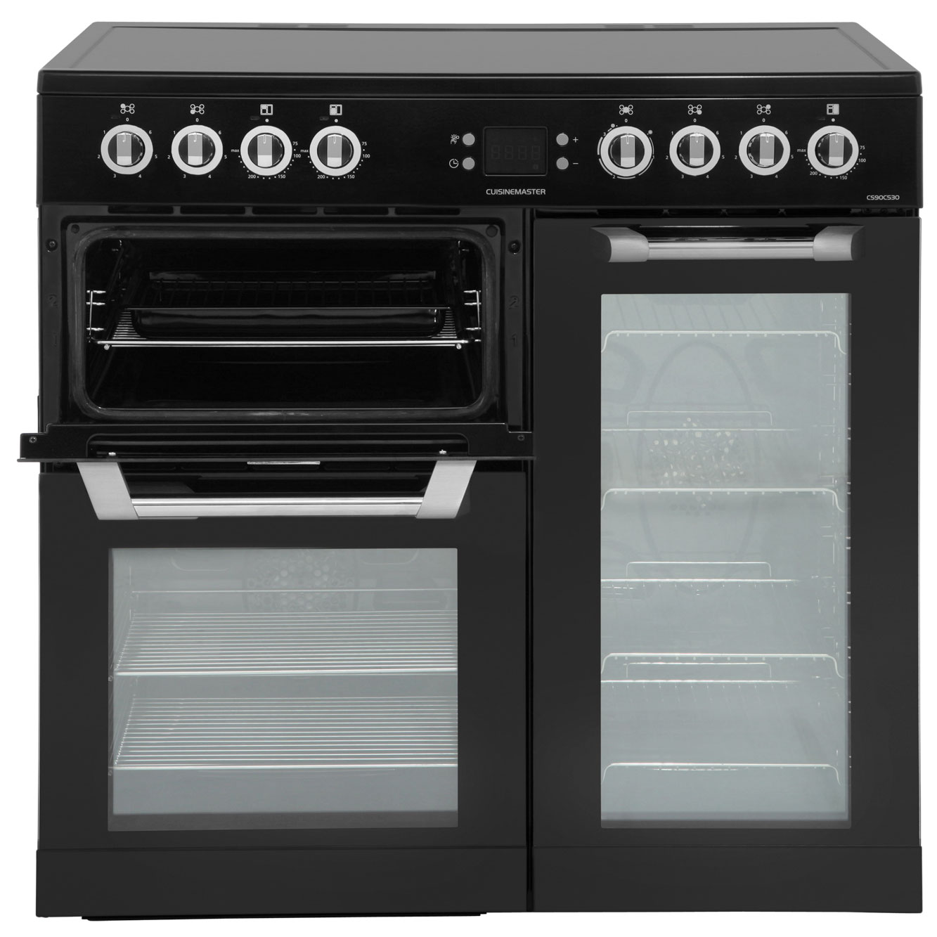 Leisure Cuisinemaster Cs90c530k Electric Range Cooker Black