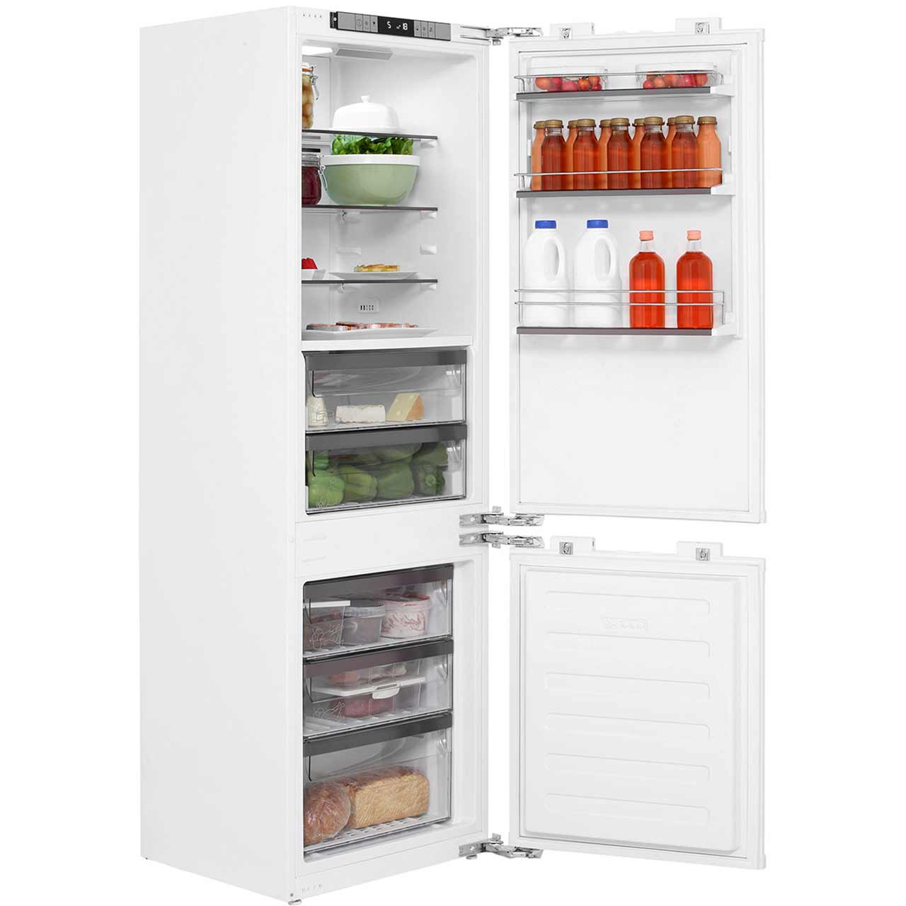 Leisure Patricia Urquiola PBC273F Integrated Fridge Freezer Frost Free in White