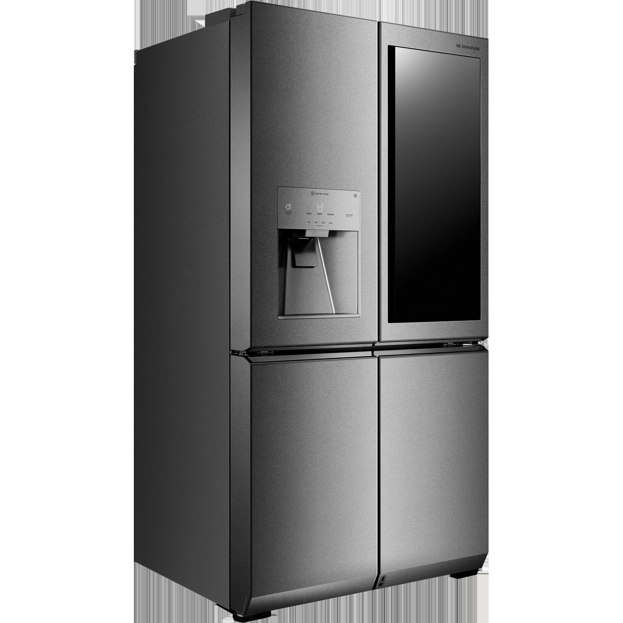 LG Signature InstaView Door-in-Door™ LSR100 Wifi Connected American Fridge  Freezer - Stainless Steel - A++ Rated