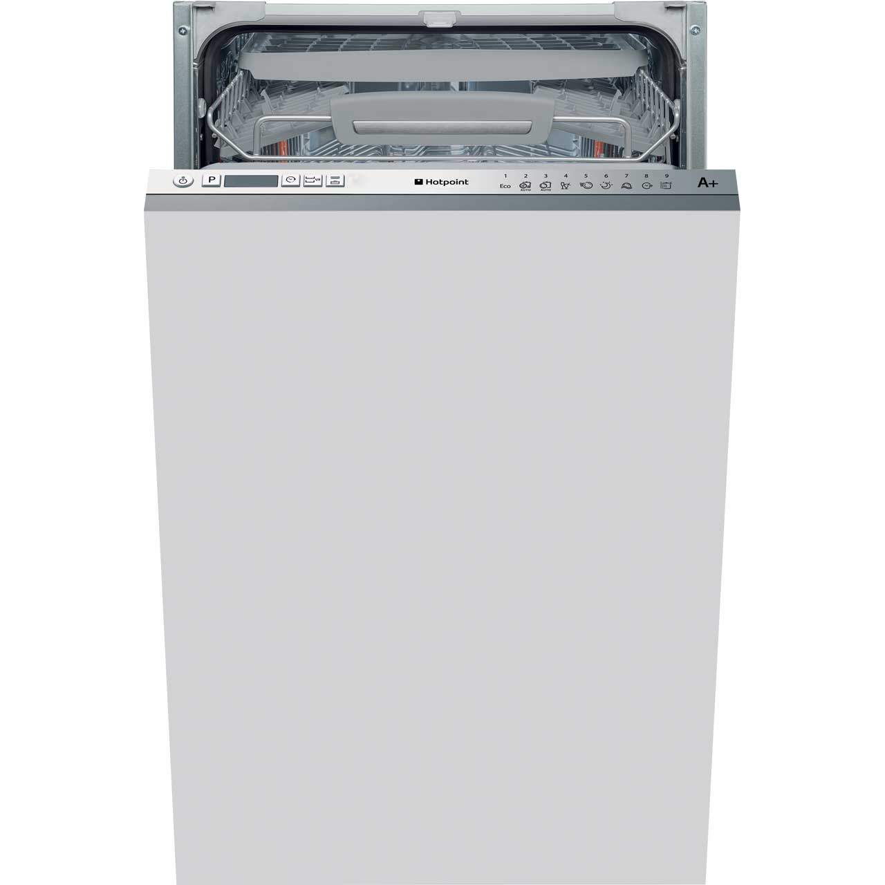 Hotpoint Ultima LSTF9H117C Integrated Slimline Dishwasher in White