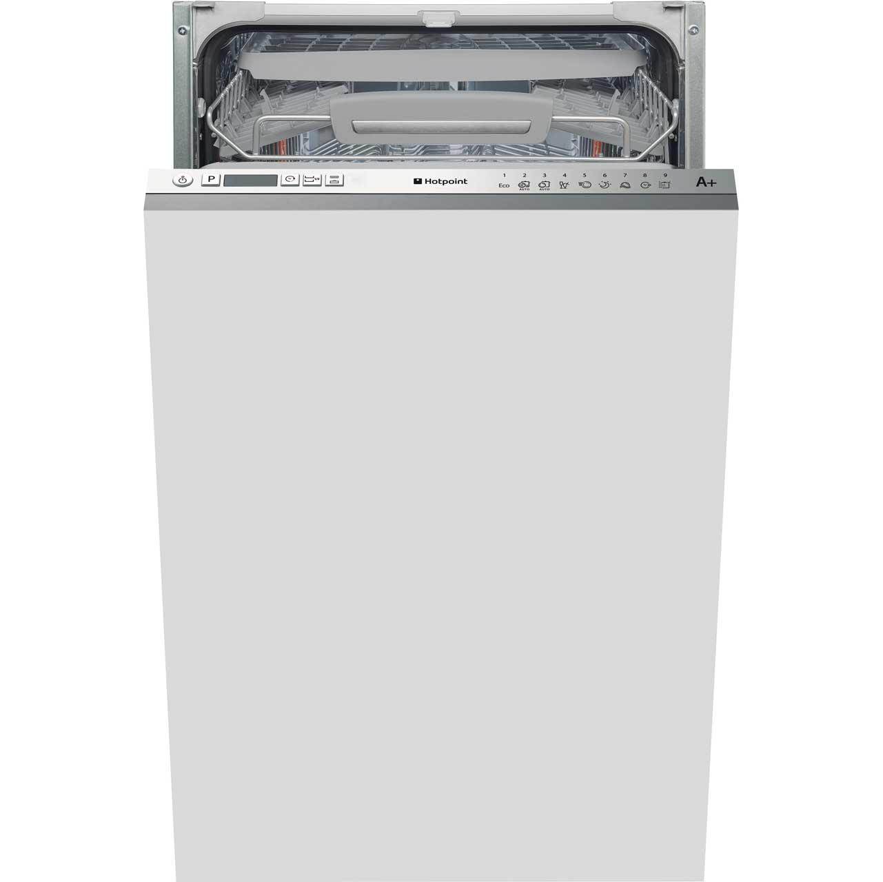 Hotpoint LSTF9H123CL Integrated Slimline Dishwasher in Stainless Steel
