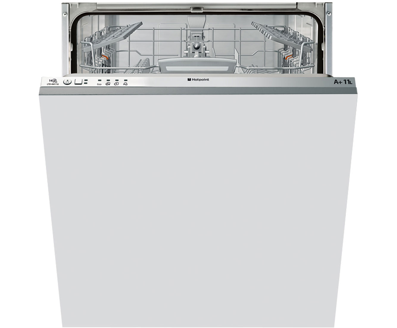 Hotpoint LTB4M116 Fully Integrated Standard Dishwasher - Grey