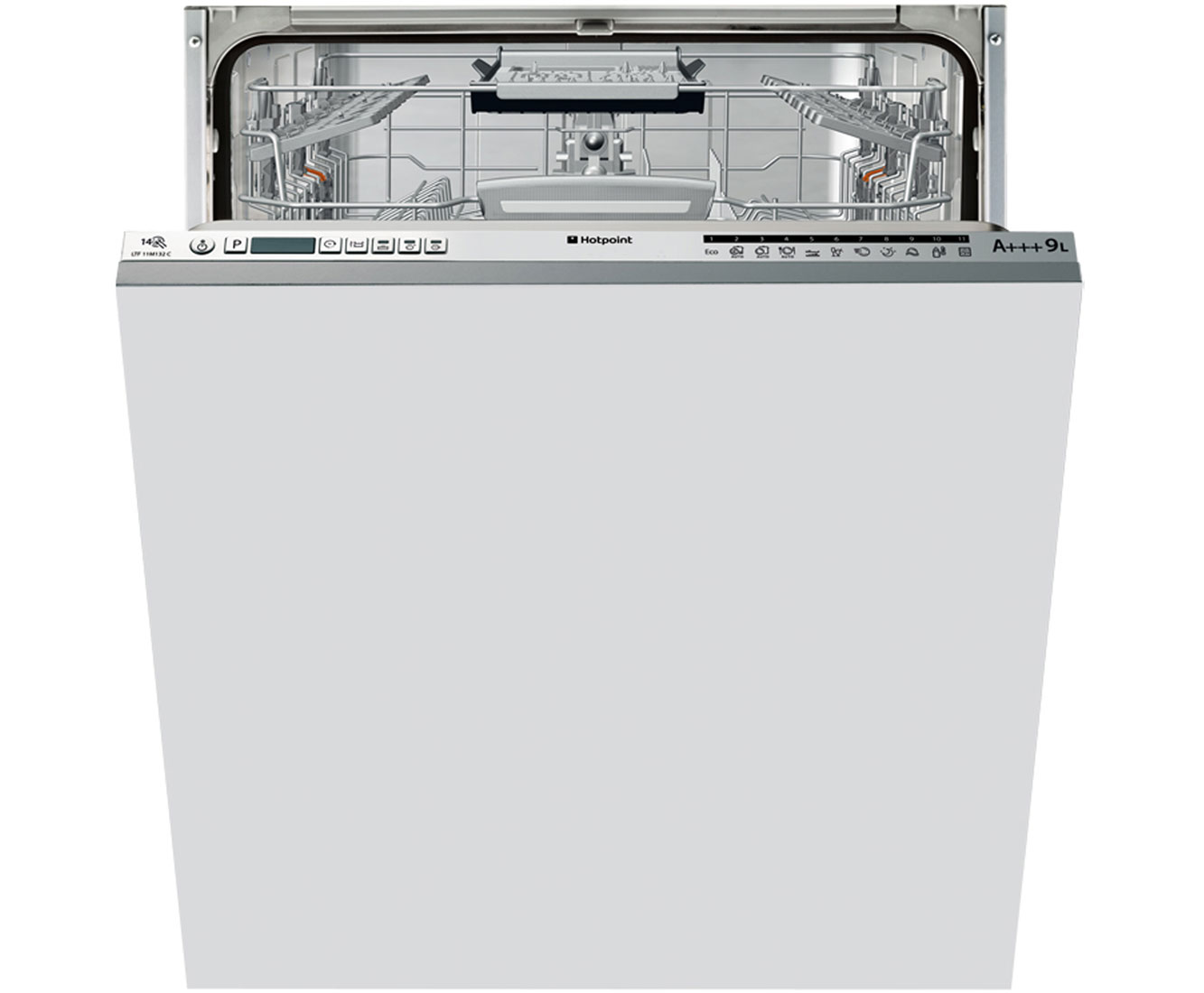 Hotpoint Ultima LTF11M132C Integrated Dishwasher in Stainless Steel