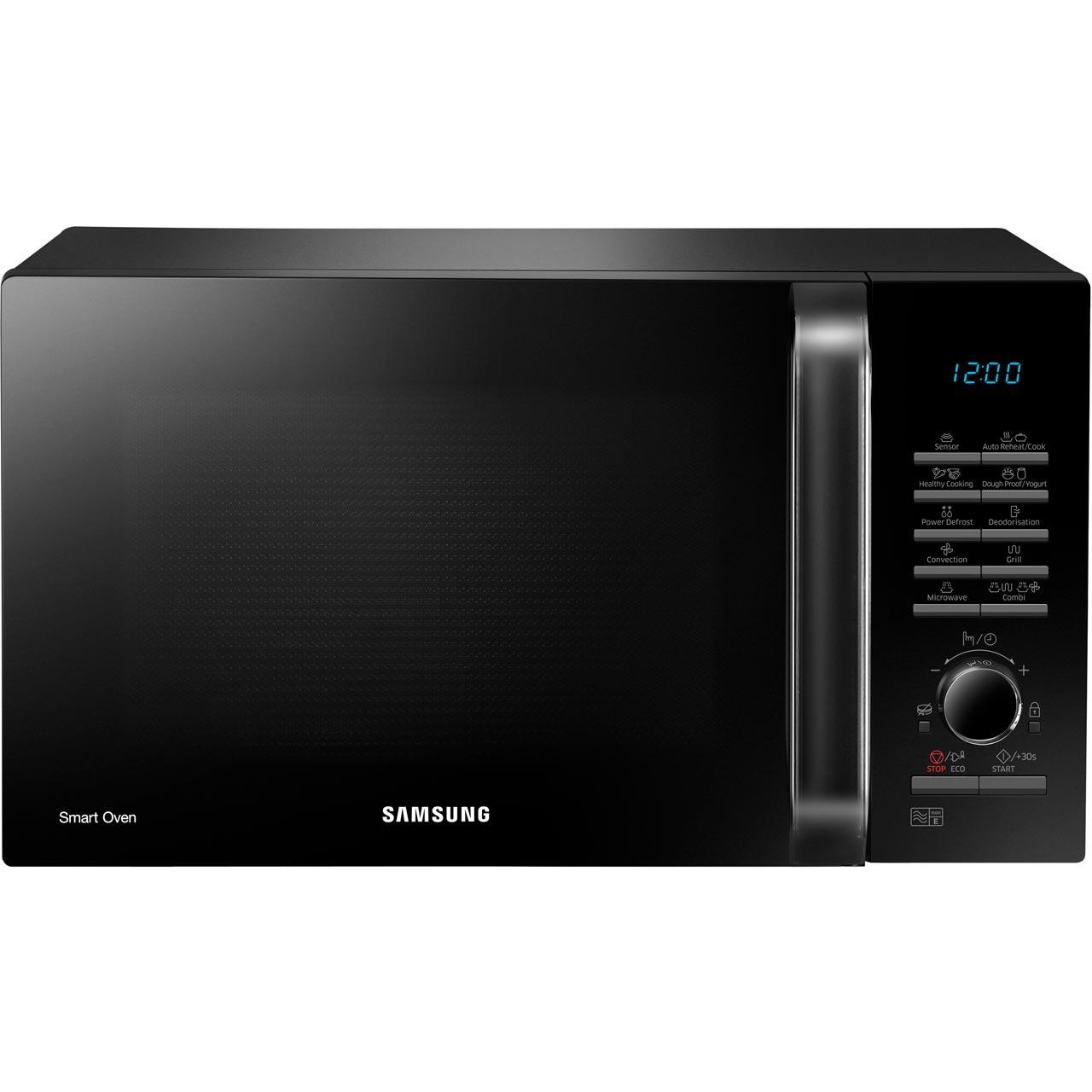 Samsung Smart Oven Microwave: Samsung MC28H5125AK Smart Oven 900 Watt Microwave Free