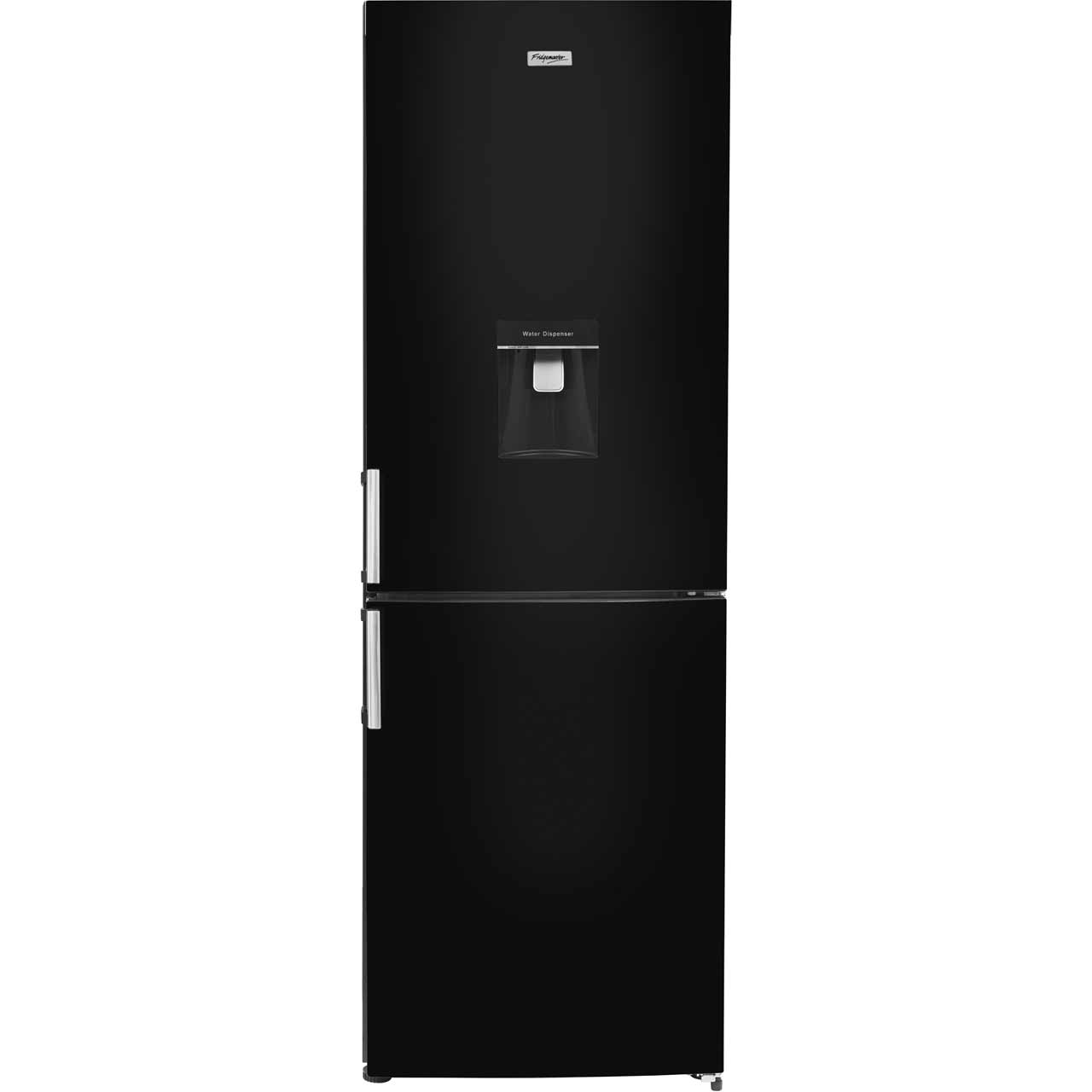 Fridgemaster MC60283DFFB Free Standing Fridge Freezer Frost Free in Black