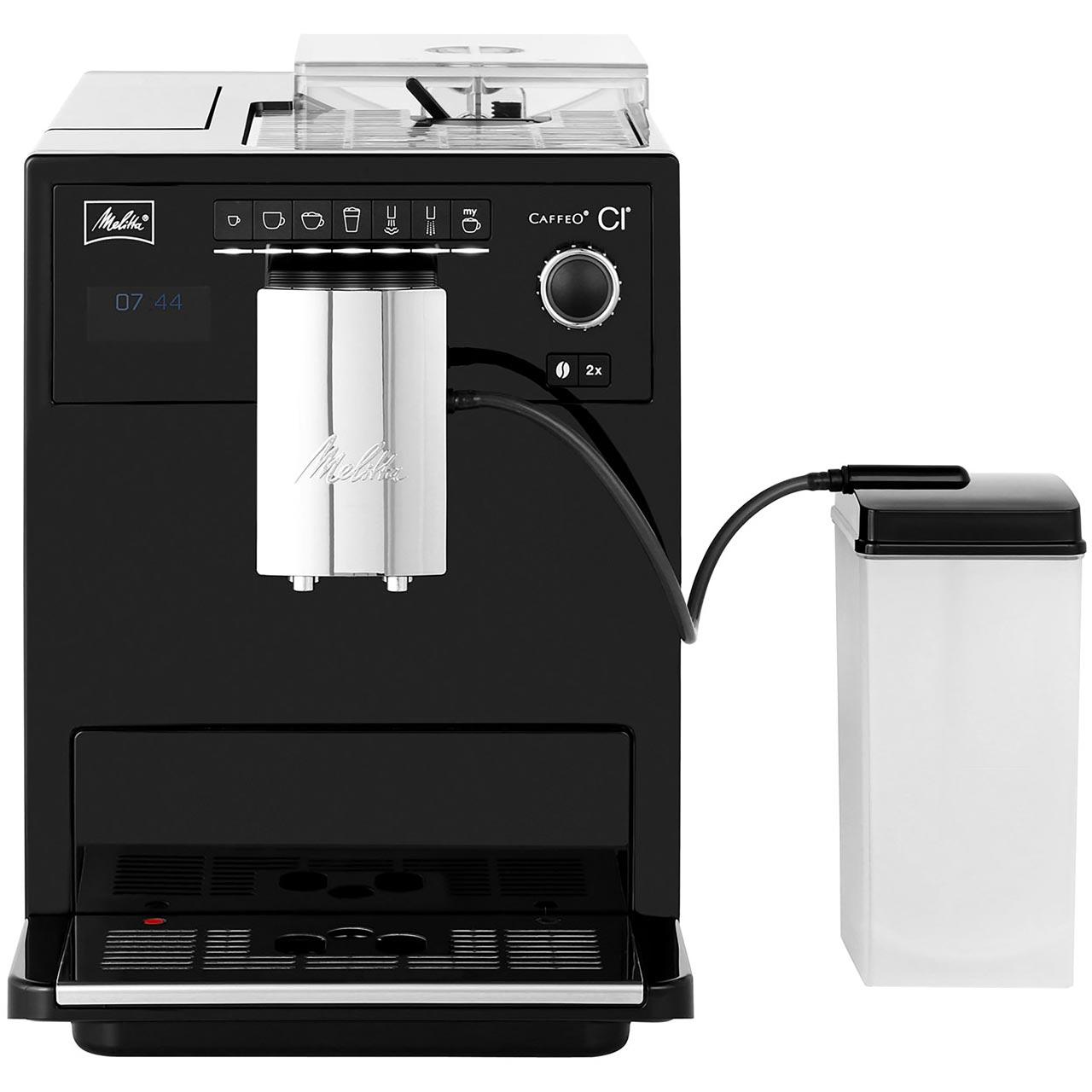 Melitta Caffeo Ci 6581404 Bean To Cup Coffee Machine Black