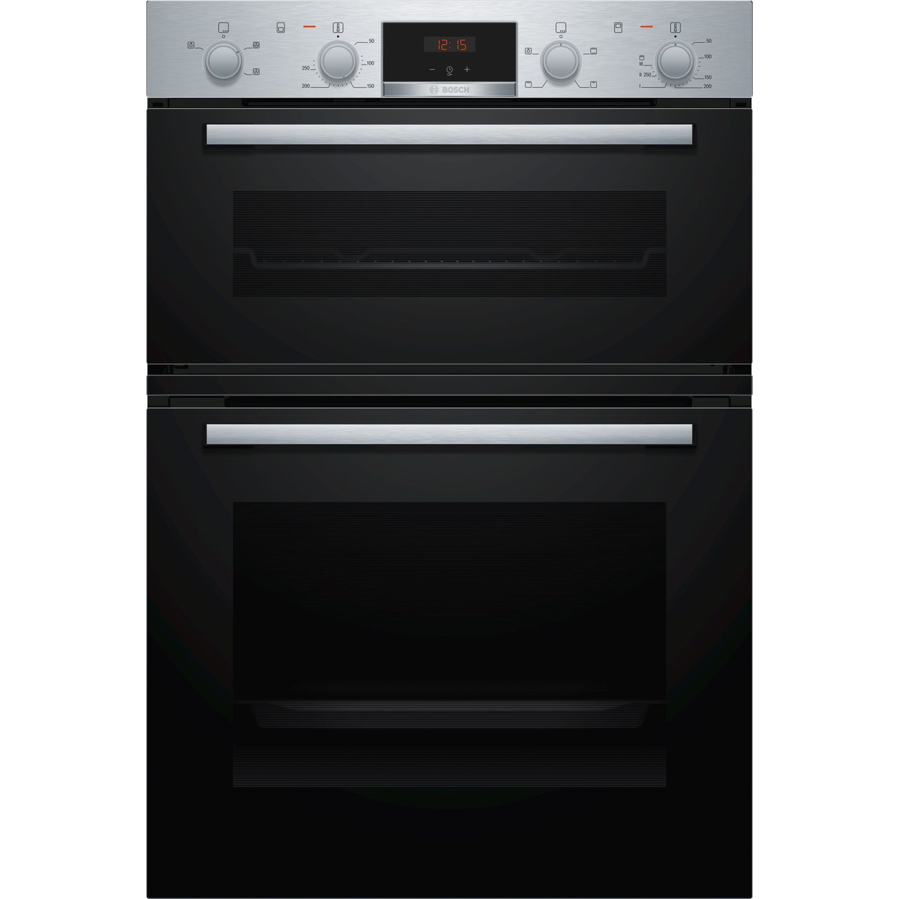 Bosch Serie 2 Built In Electric Double Oven - Stainless Steel - A/B Rated