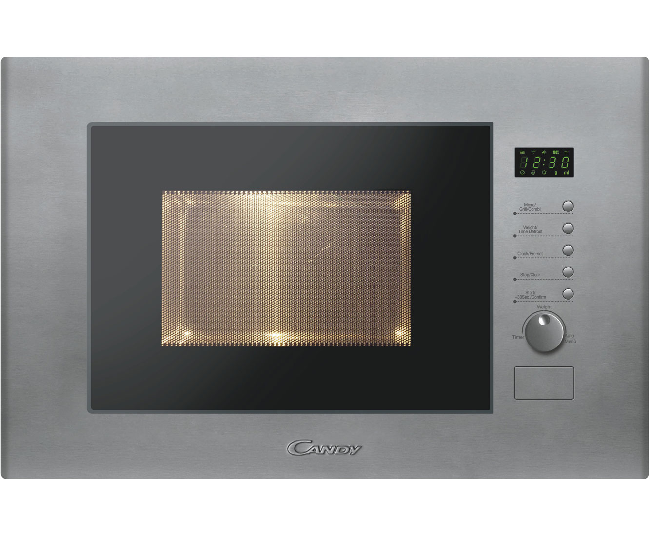 Candy MIC20GDFX Integrated Microwave Oven in Stainless Steel