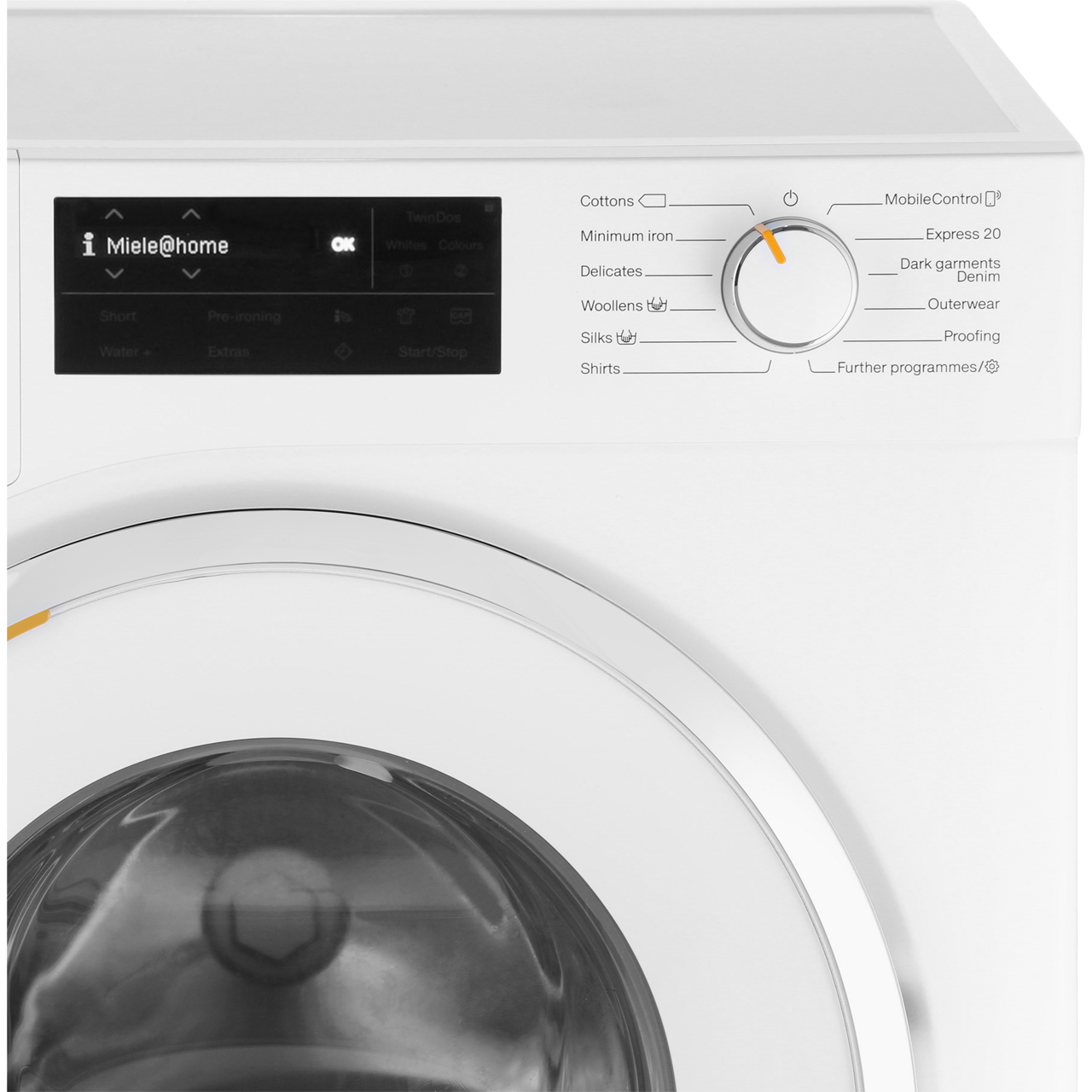 Miele W1 TwinDos WWI660 Wifi Connected 9Kg Washing Machine with 1600 rpm -  White - A+++ Rated