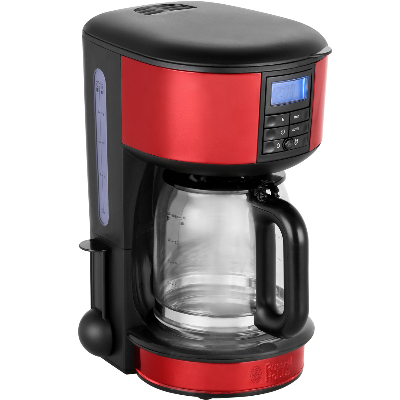 Russell Hobbs Legacy 20682 Filter Coffee Machine With Timer Red