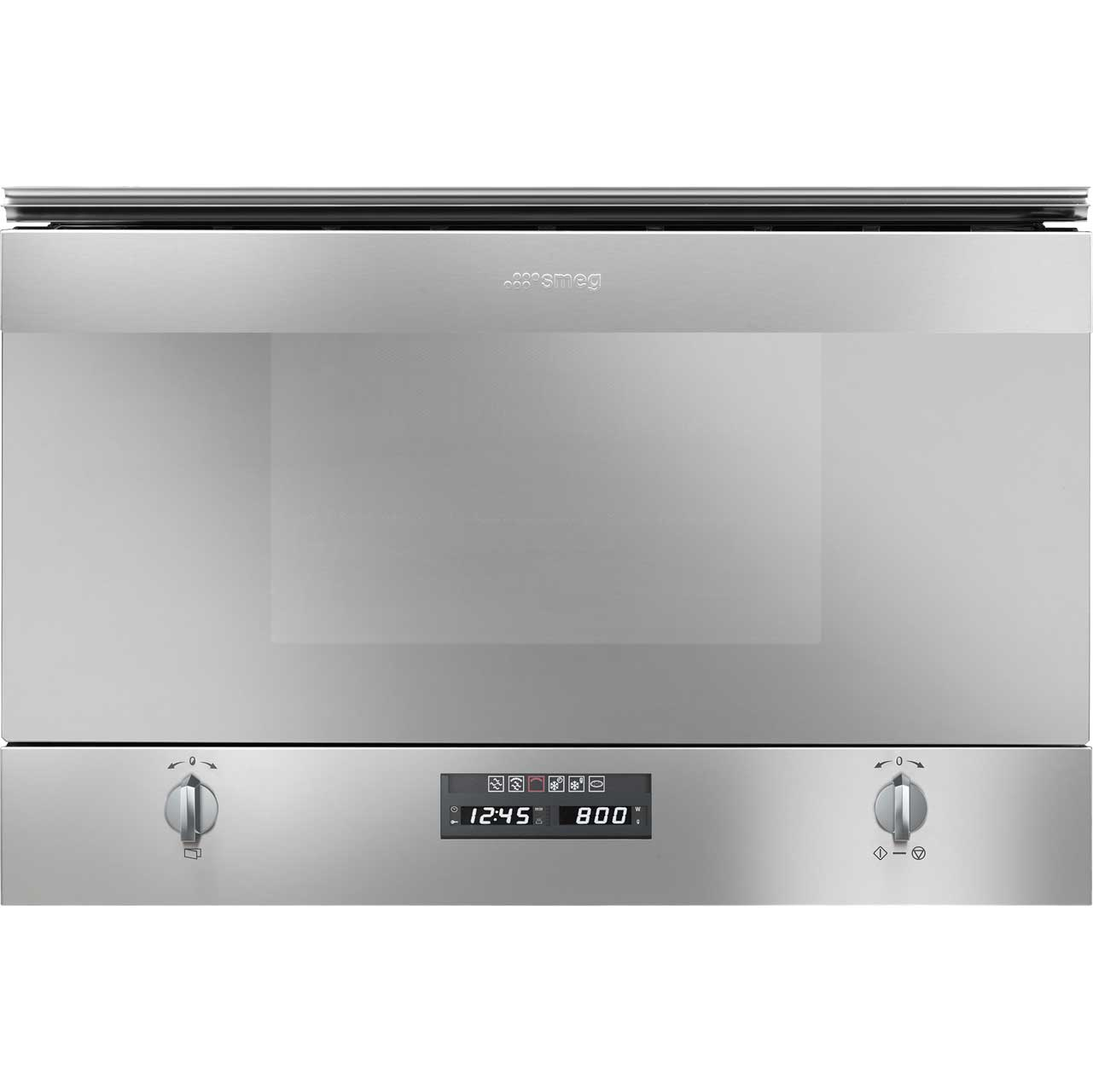 Smeg Cucina MP422X Integrated Microwave Oven in Stainless Steel